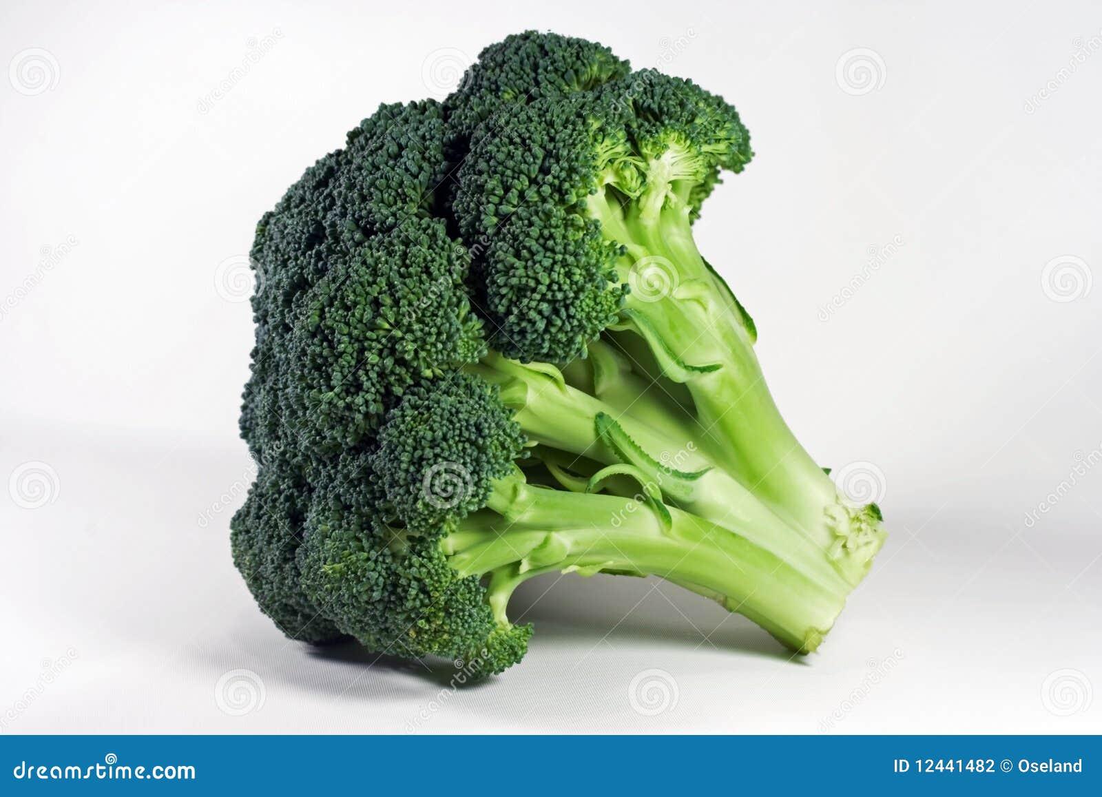 Isolerad broccoli