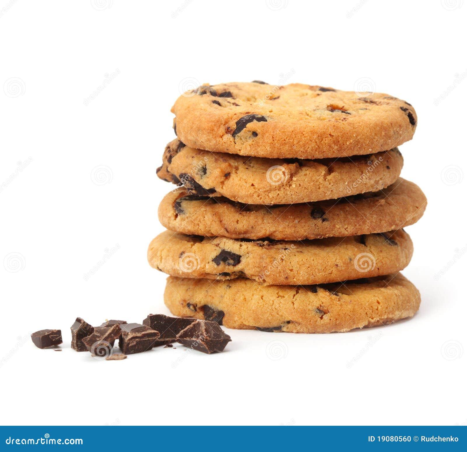 Isolerad chipchokladkaka