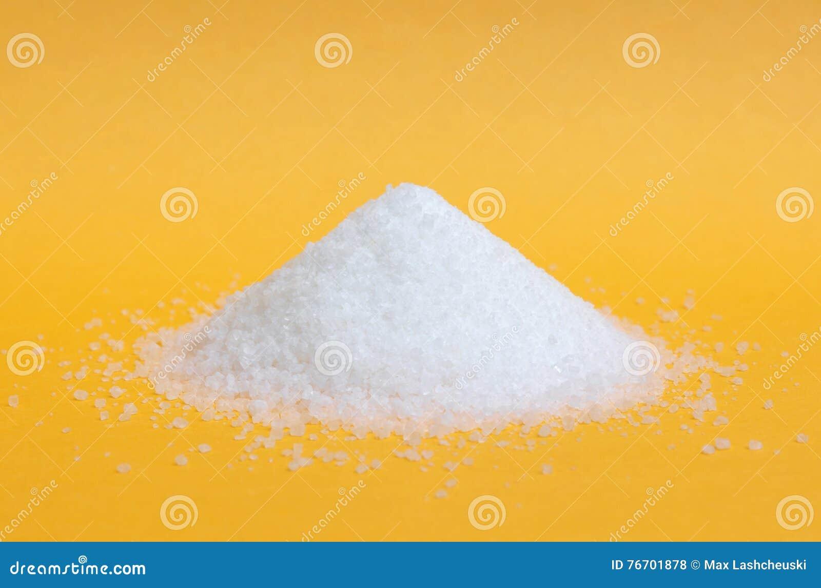 Isolerad hög av socker