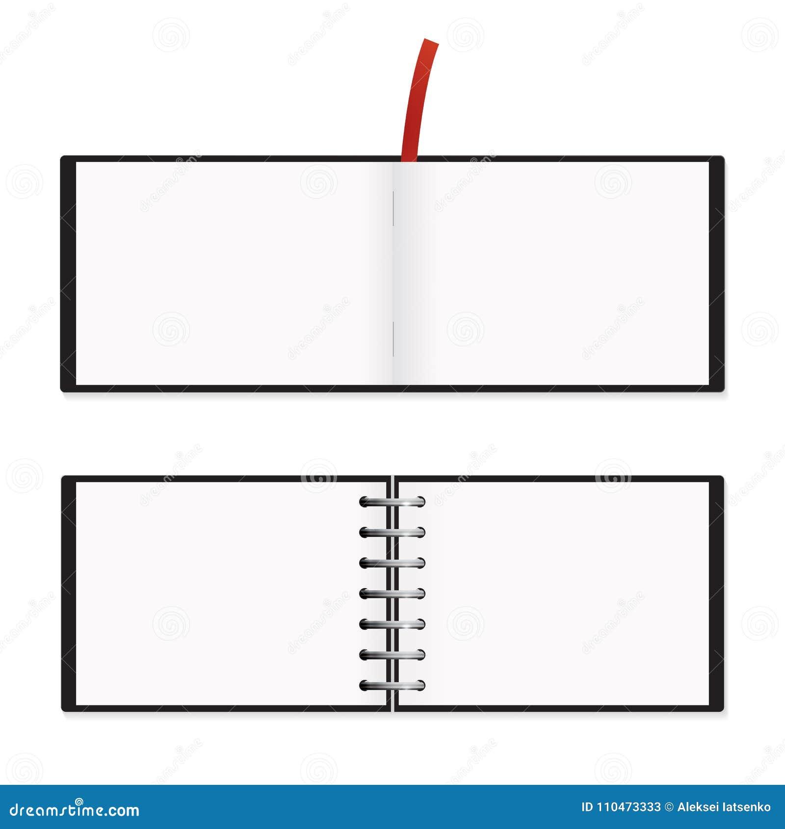 Isolerad horisontalmodell för Notepad A5