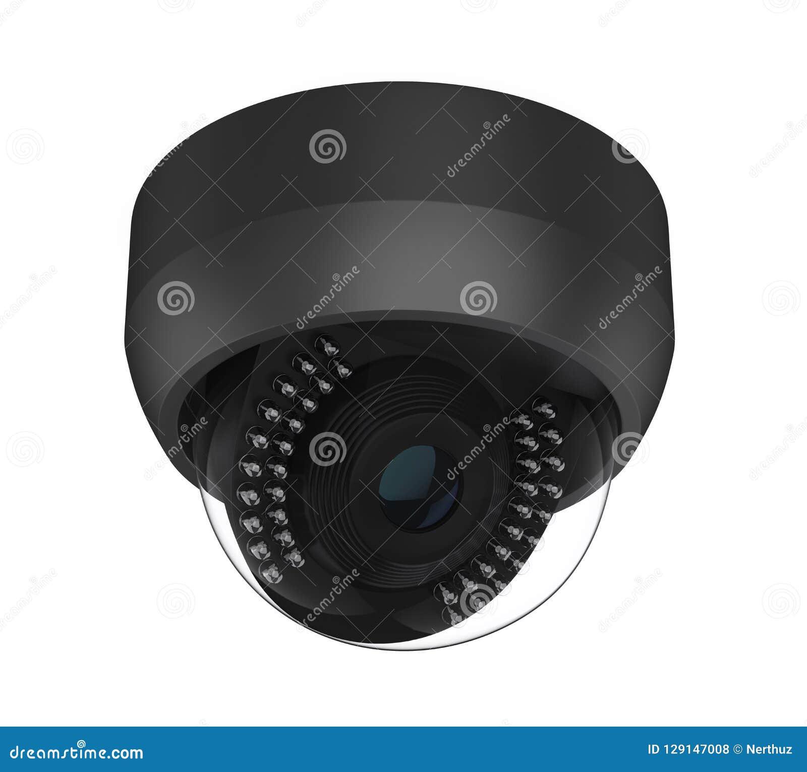Isolerad kamera för kupolCCTV-säkerhet