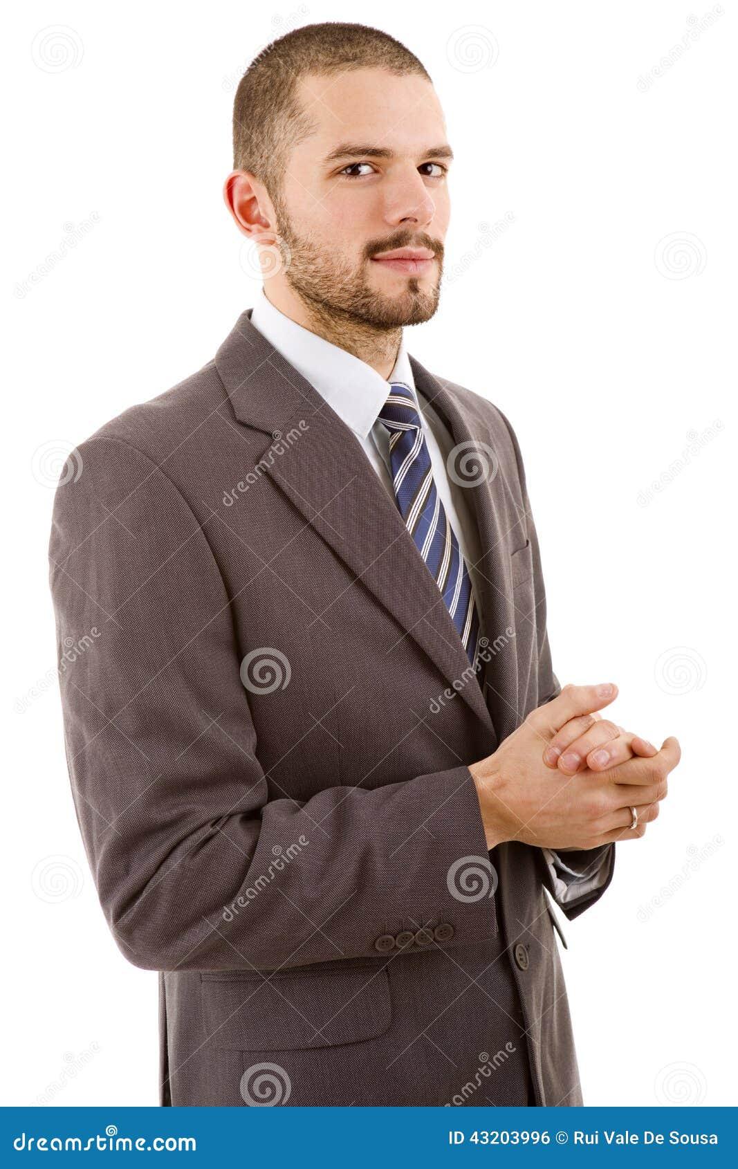 Download Isolerad Man För Bakgrund Affär över White Arkivfoto - Bild av karriär, kontakt: 43203996