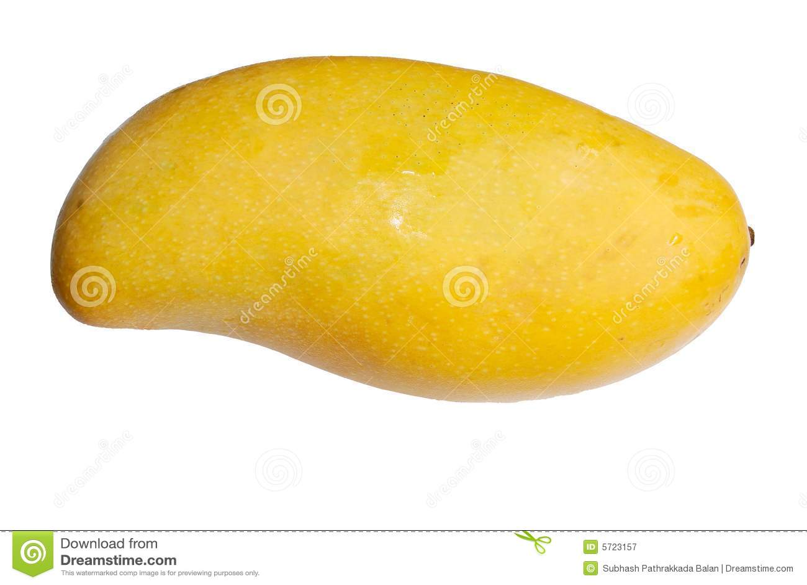 Isolerad mango