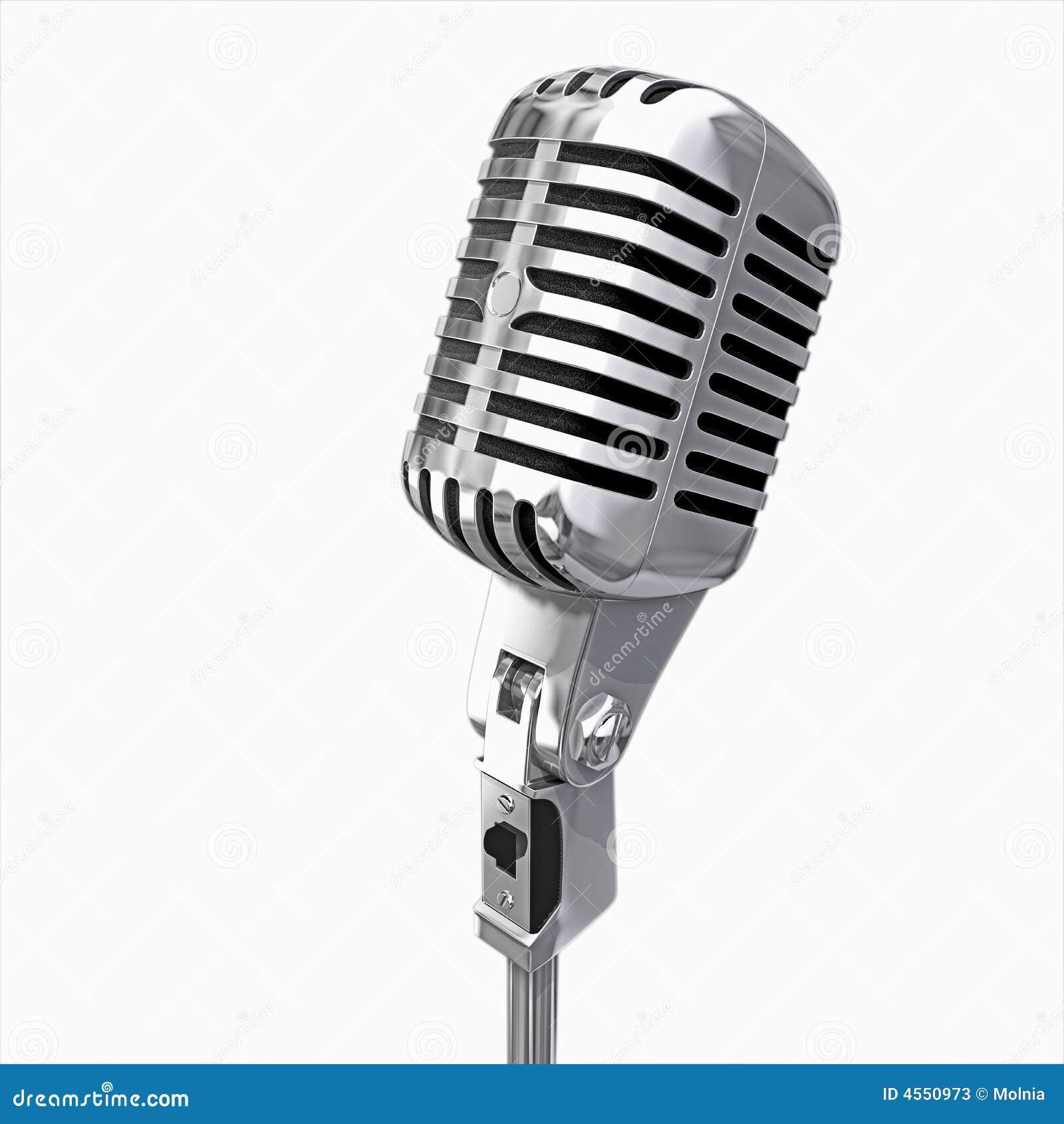 Isolerad mikrofon