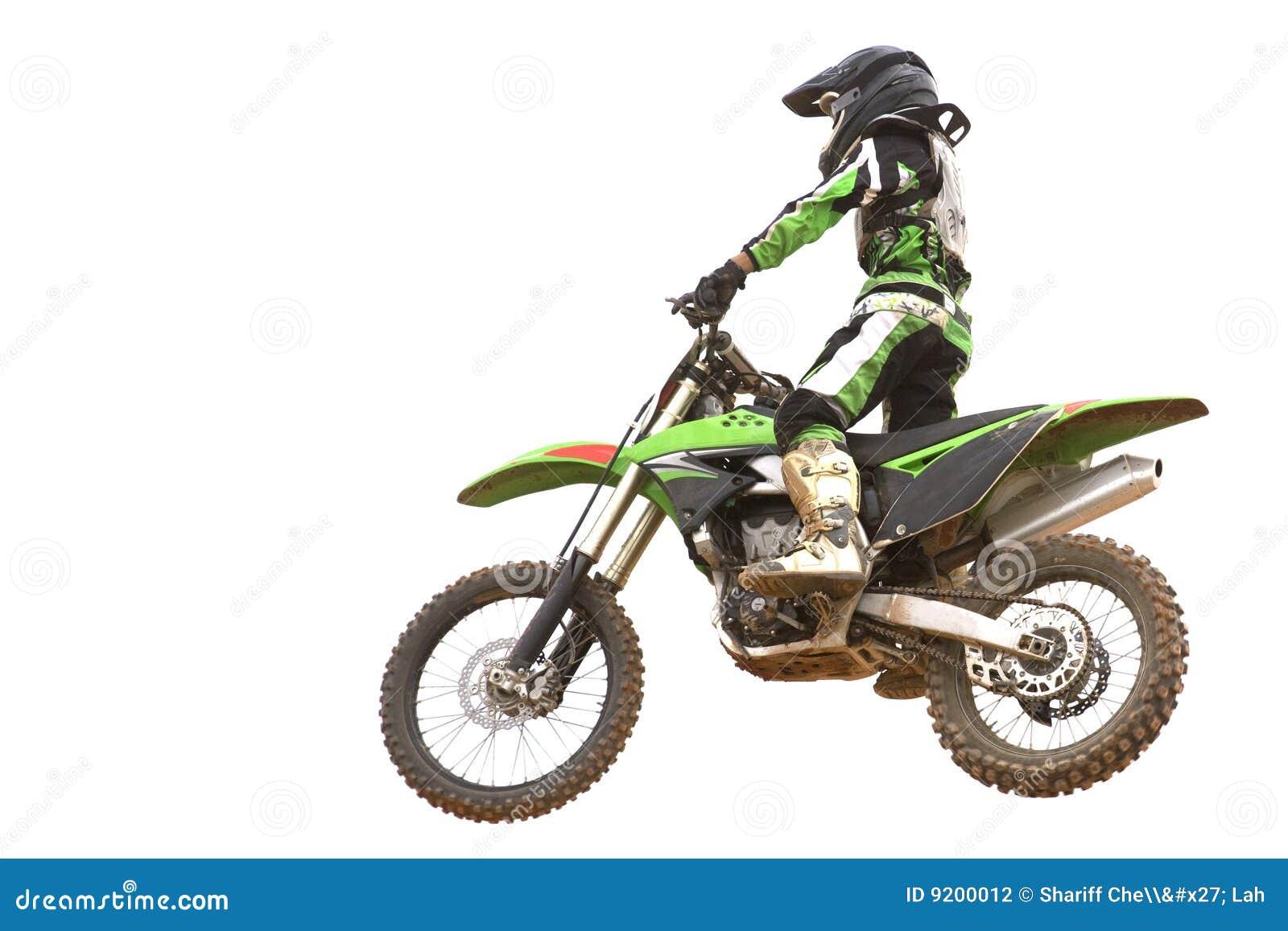 Isolerad motocross