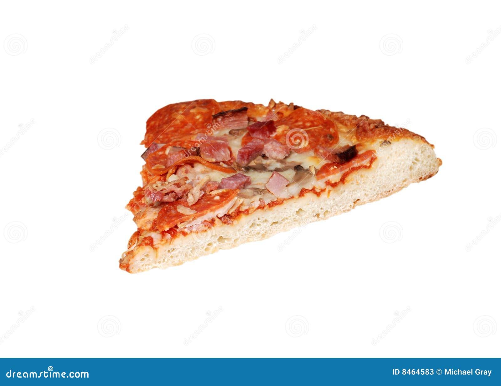 Isolerad pizzaskiva