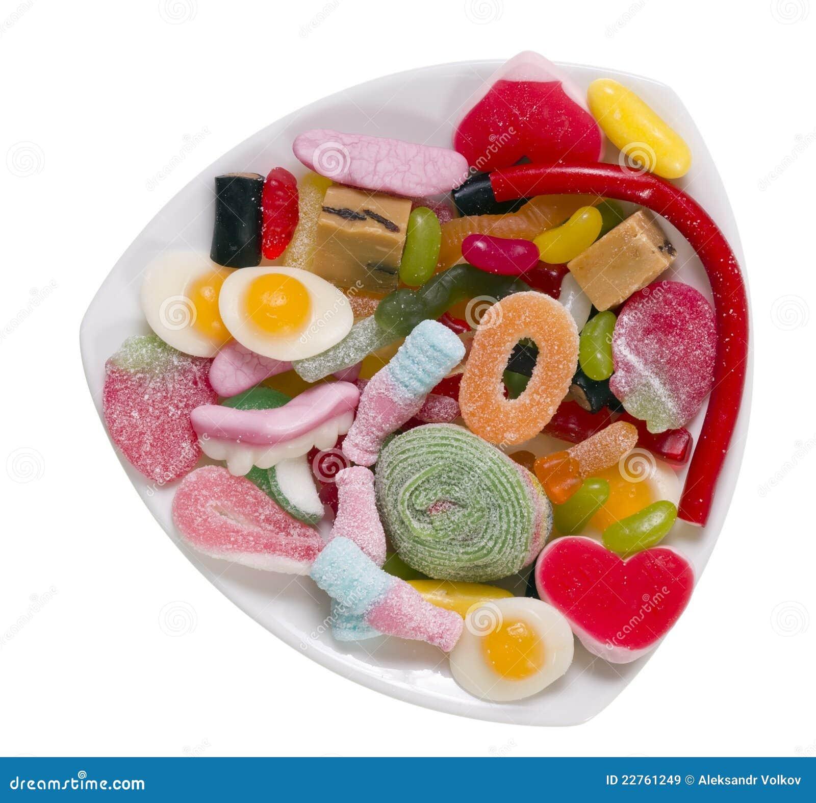godis med gelatin
