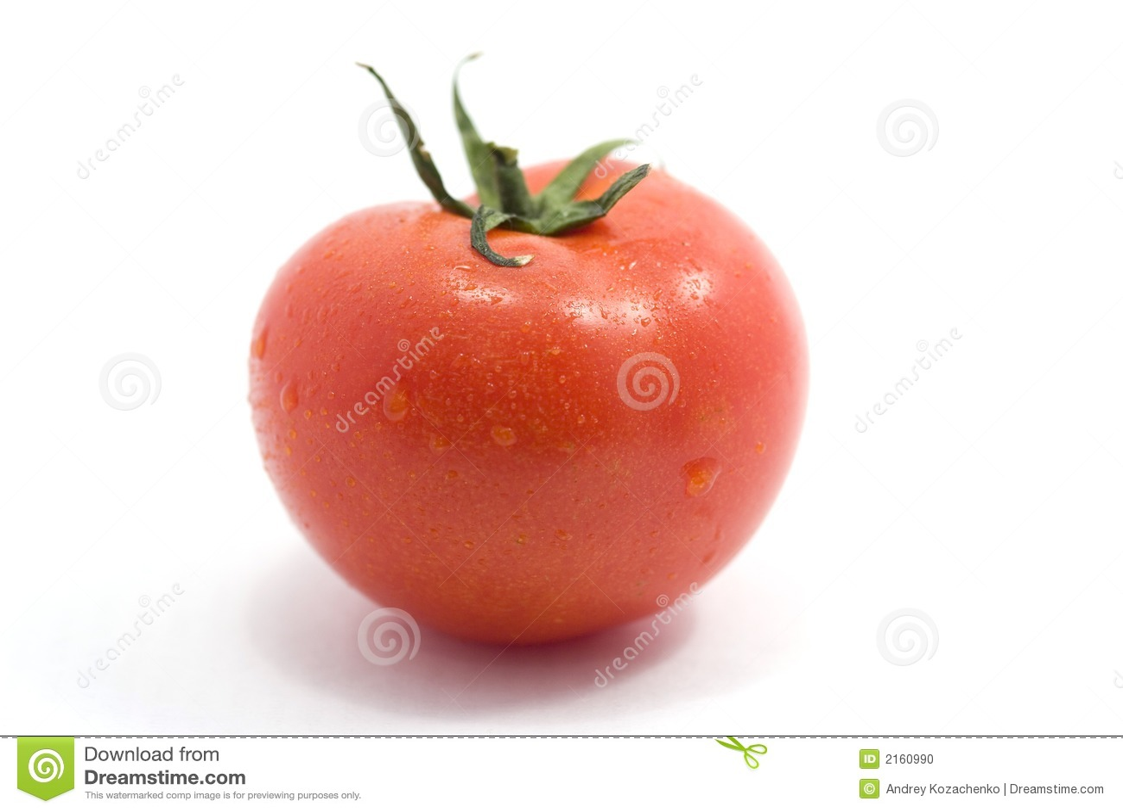 Isolerad saftig tomat