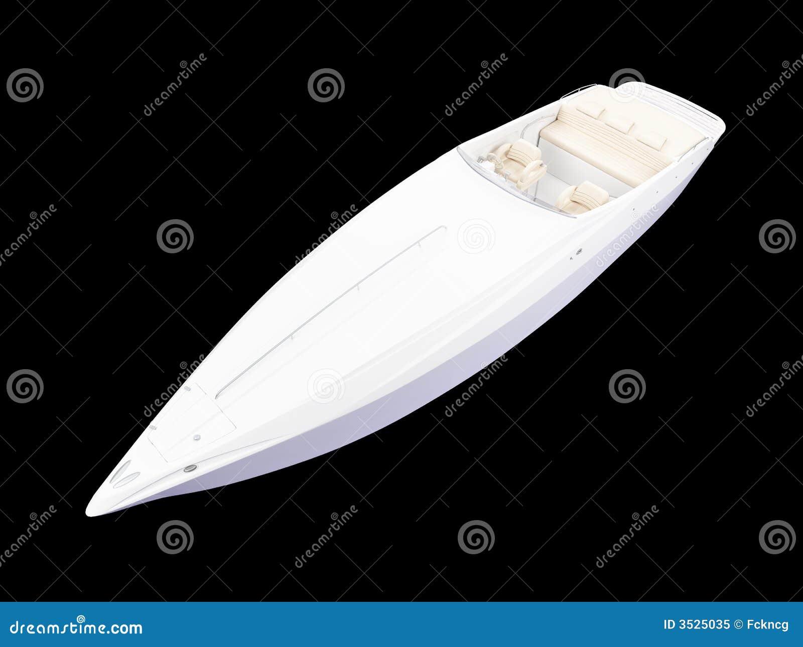 Isolerad siktswhite för fartyg framdel