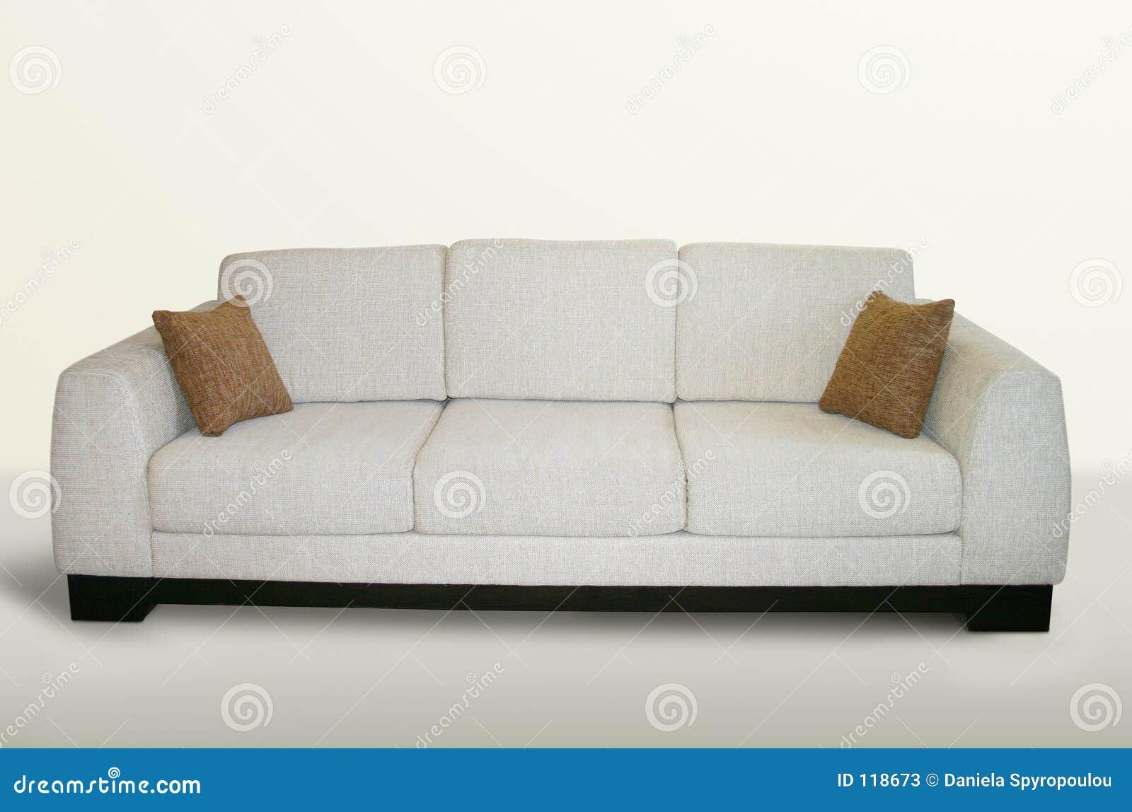 Isolerad soffa