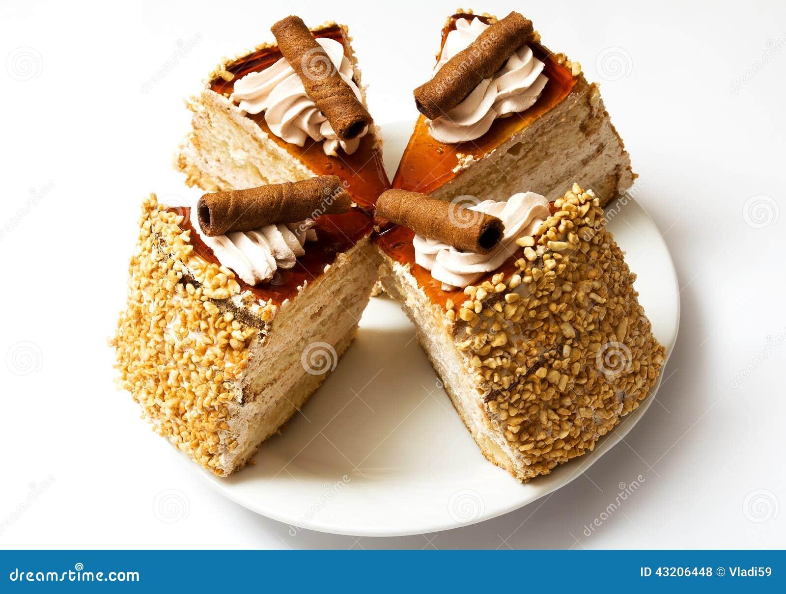 Download Isolerad Svampwhite För Bakgrund Cake Arkivfoto - Bild av isläggning, objekt: 43206448
