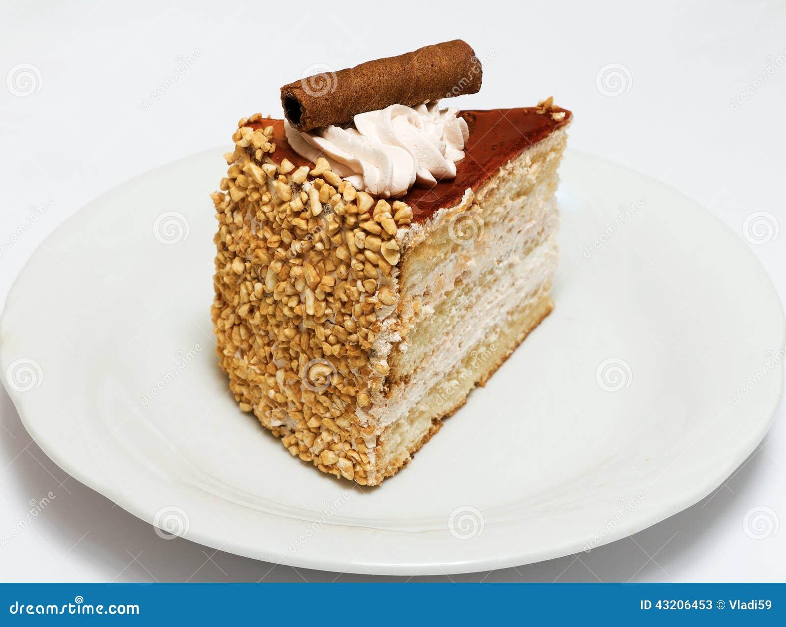 Download Isolerad Svampwhite För Bakgrund Cake Fotografering för Bildbyråer - Bild av objekt, efterrätt: 43206453