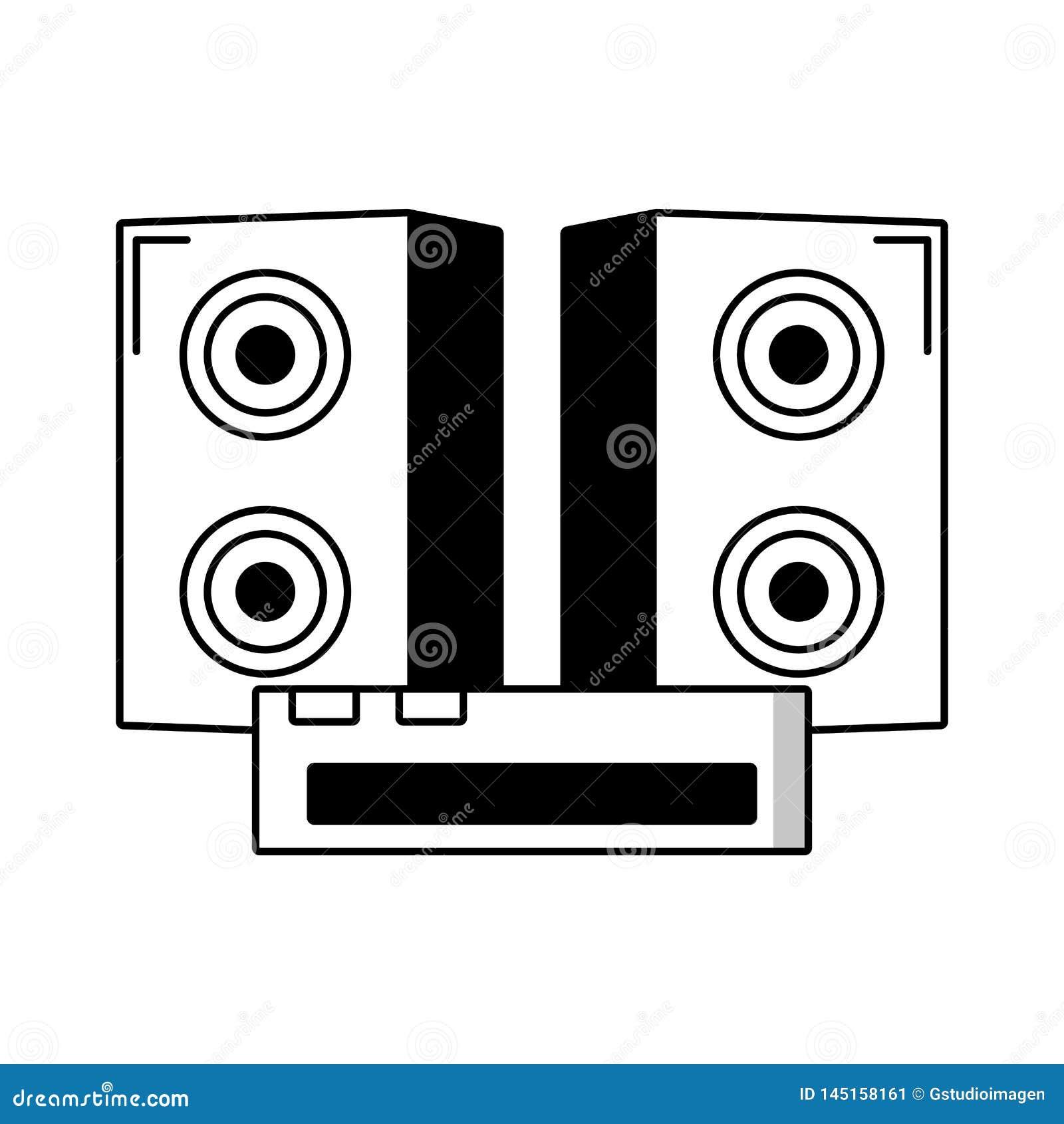 Isolerad symbol f?r solid utrustning