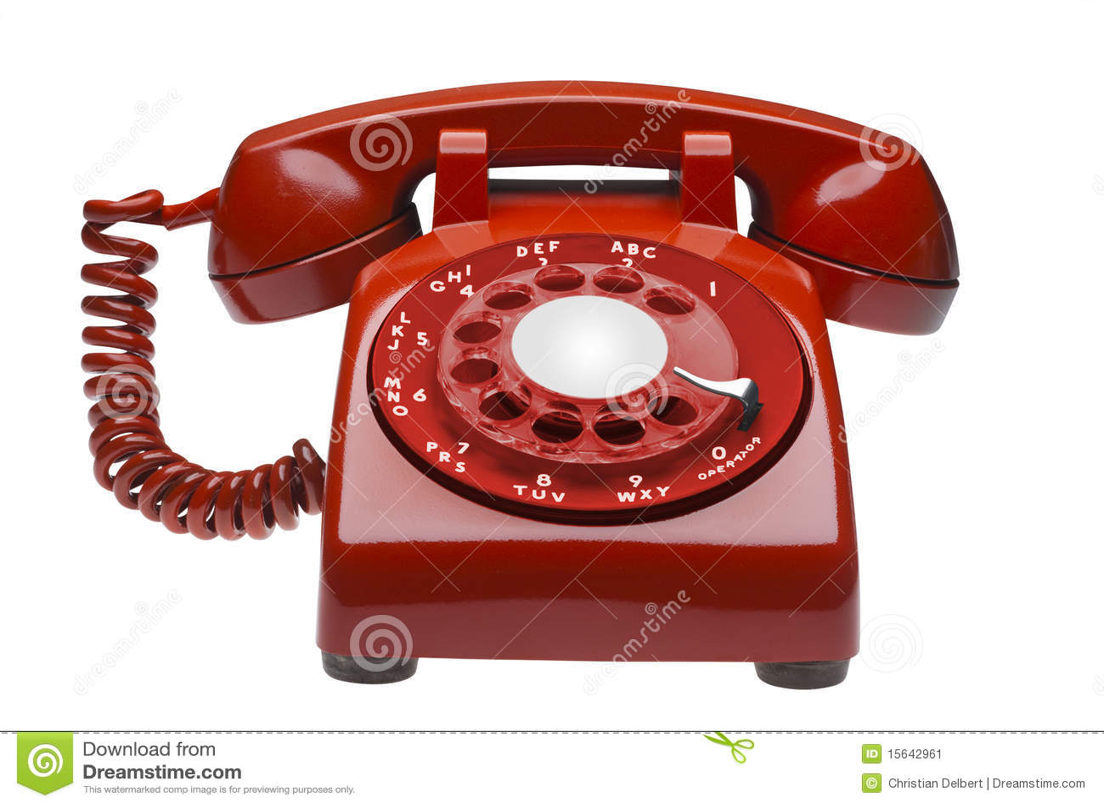 Isolerad telefonred