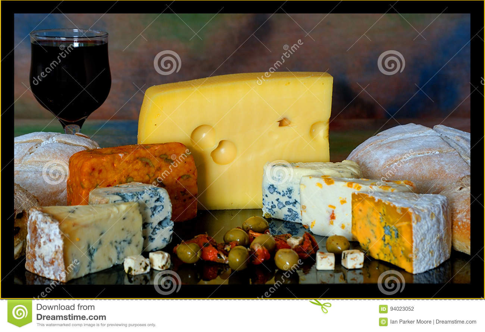Isolerad white för bakgrundsbräde ost