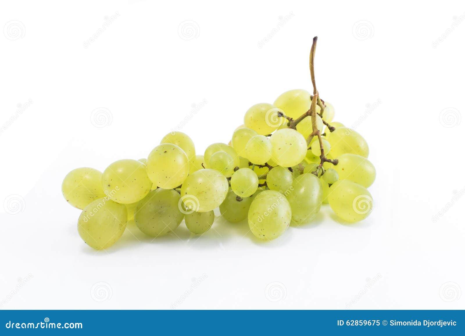 Isolerad white för druvor green
