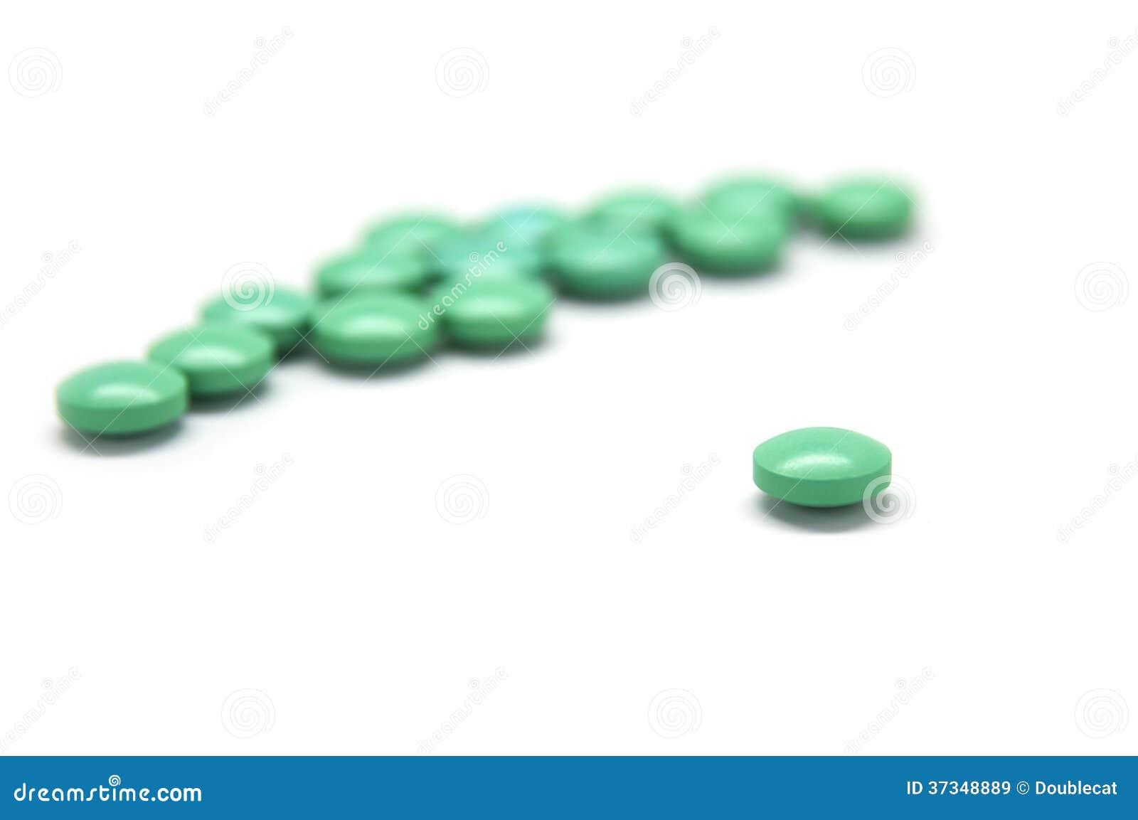 Isolerade gröna preventivpillerar