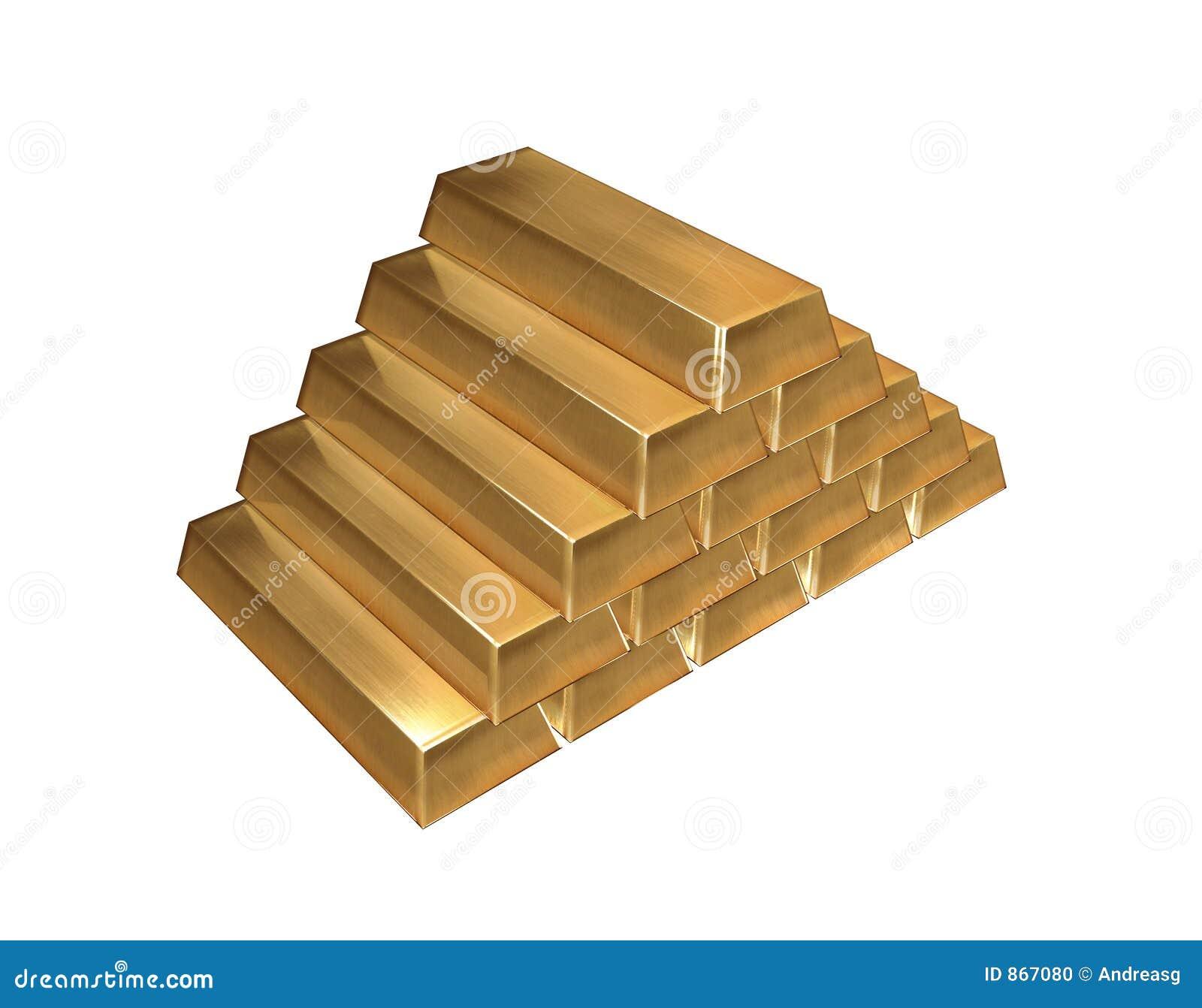 Isolerade guldtackor