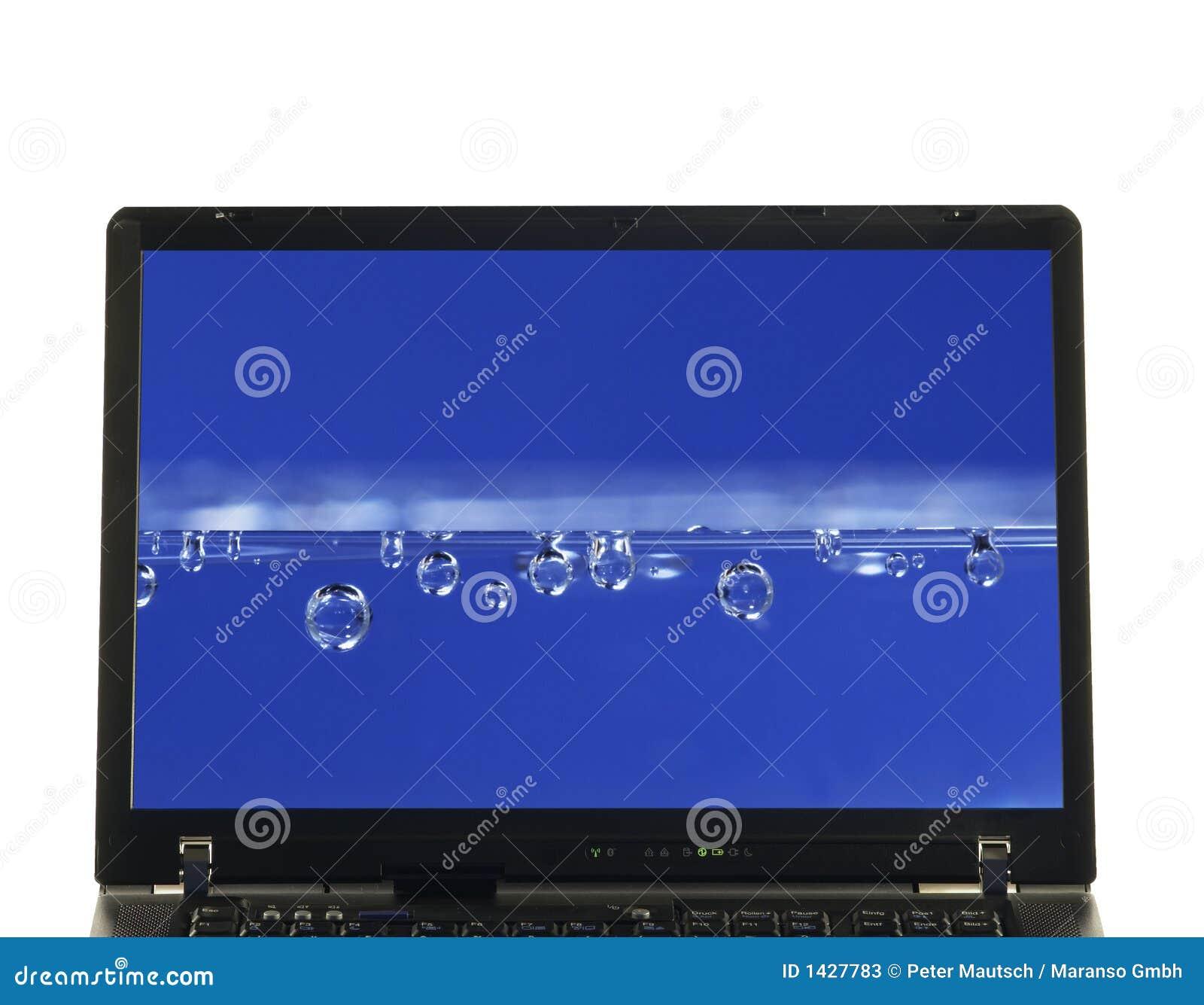 Isolerat bärbar datorskärmvatten