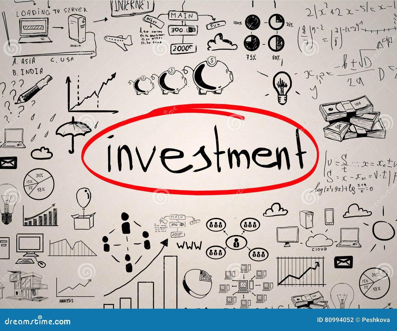 Isolerat framförande för begrepp 3d investering