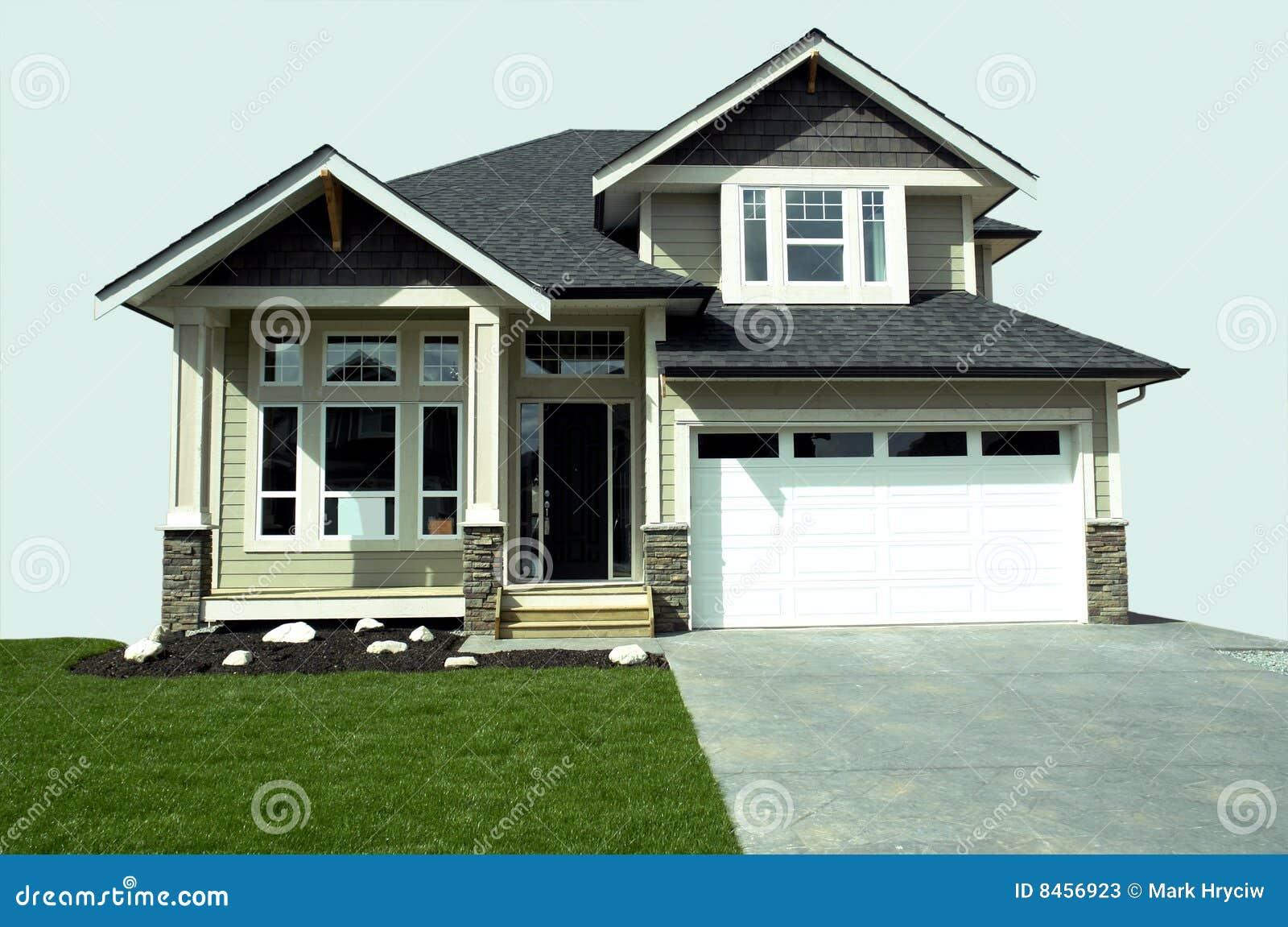 Isolerat hus