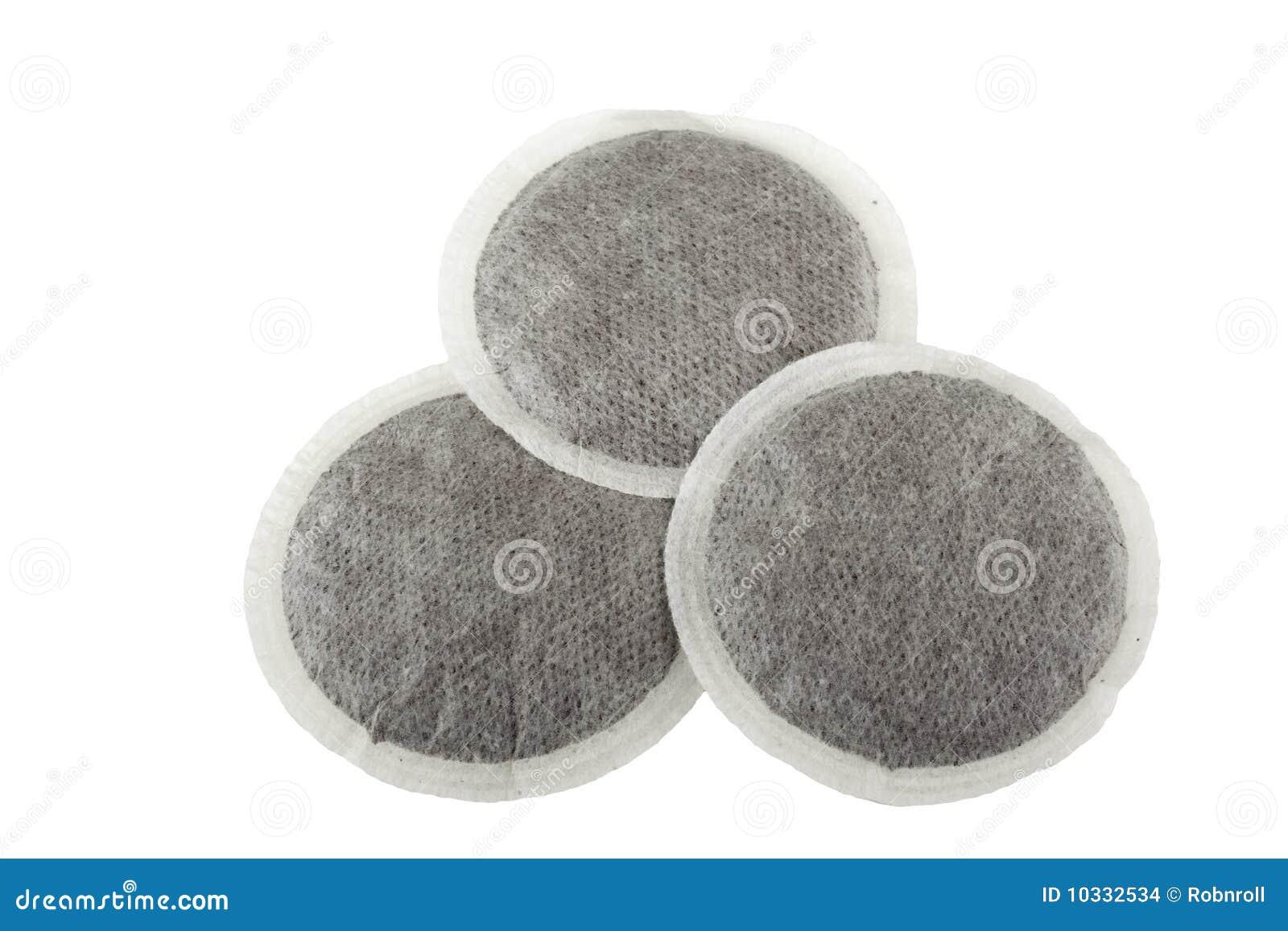 isolerat kaffe pads white tre arkivbilder bild 10332534. Black Bedroom Furniture Sets. Home Design Ideas