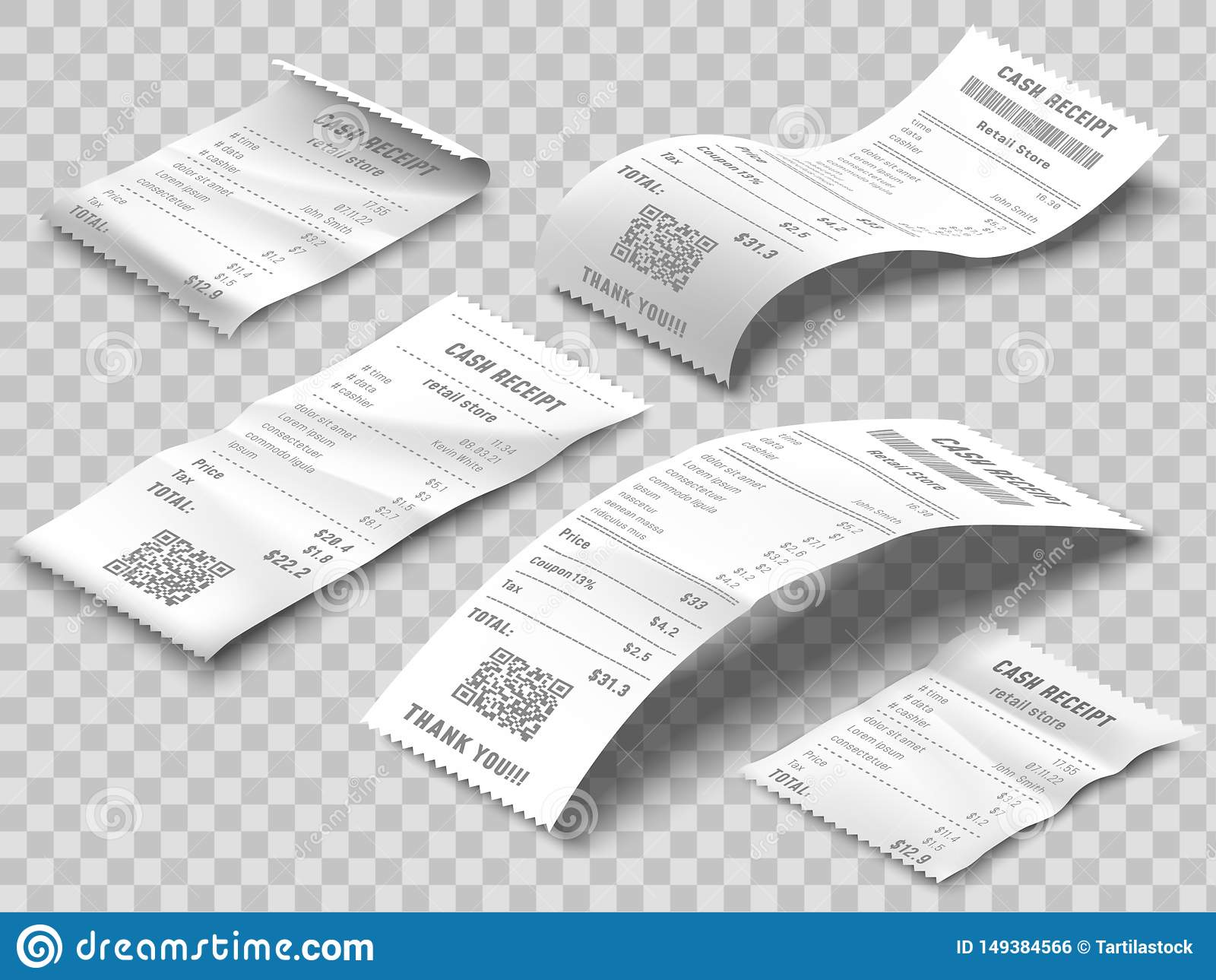 Isometric λογαριασμός παραλαβών Η τυπωμένη παραλαβή τιμολόγησης, οι λογαριασμοί πληρωμής και η οικονομική τράπεζα ελέγχουν απομον