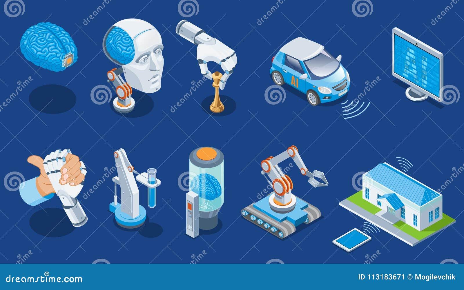 Isometric σύνολο τεχνητής νοημοσύνης