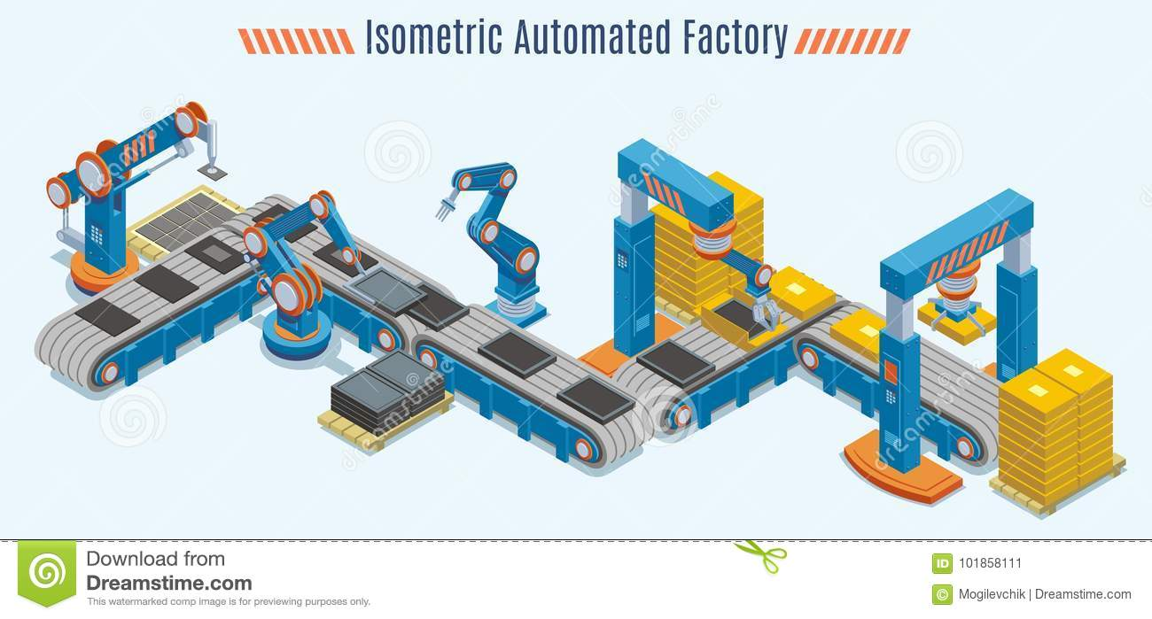 Production Line Animation | www.pixshark.com - Images Galleries With A Bite!