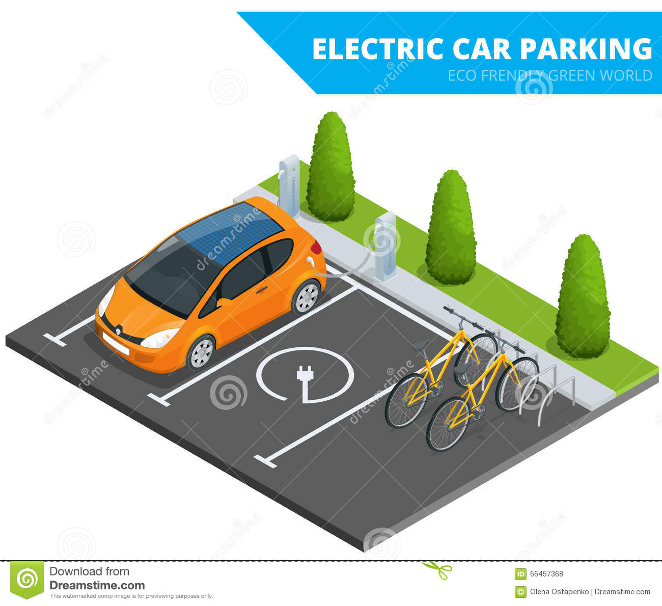 Charge Electric Car For Free