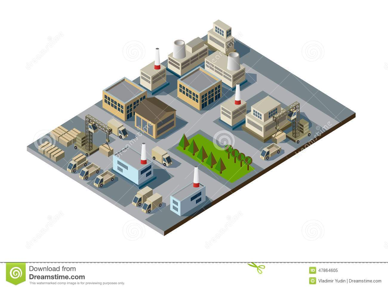 Software To Draw Floor Plans Isometric Factory Stock Vector Image Of House Building