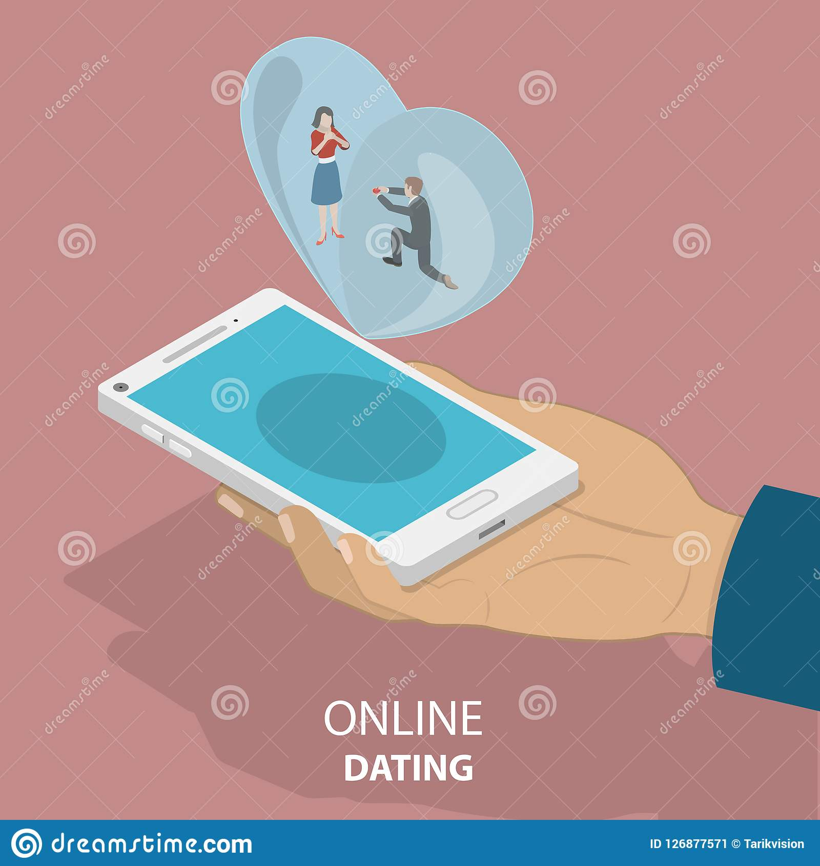 dating on- line satire