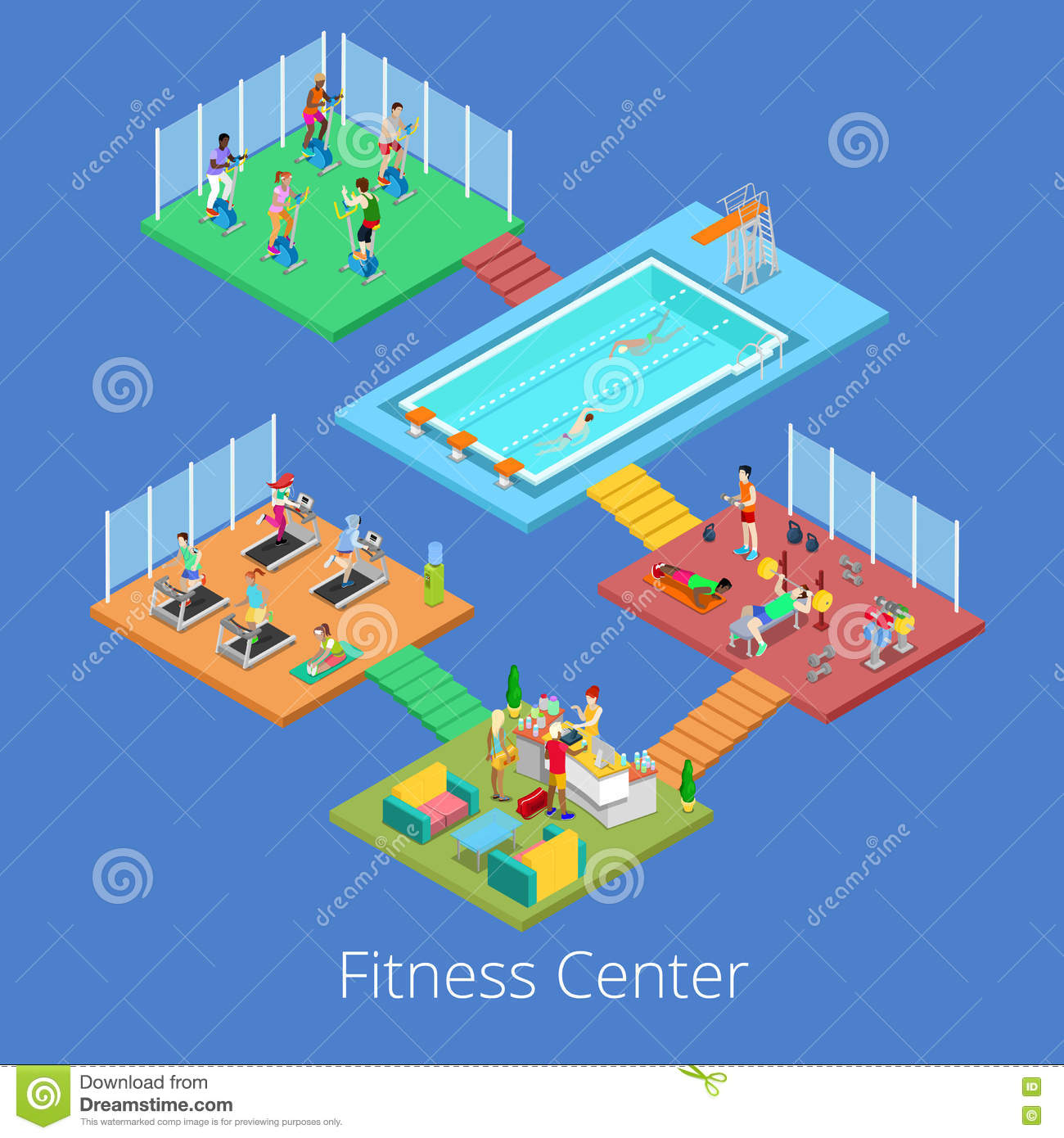 Fitness Center Interior Design, Gym Stock Photography ...