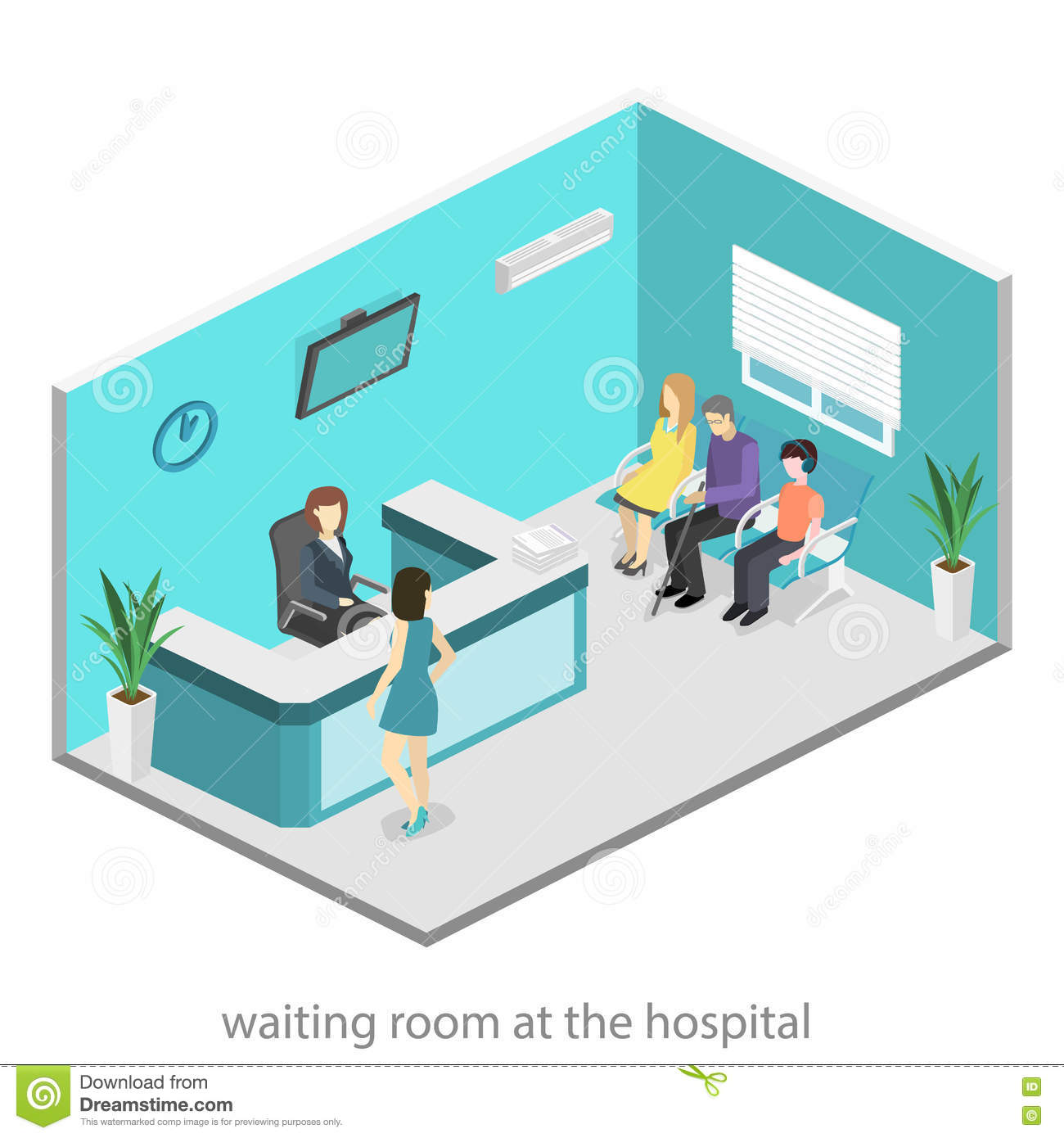 descriptive essay on a hospital waiting room Fragmented primary care will reveal a waiting room full of patients with  you are  describing: the issue of getting patients into the hospital in a timely fashion or.