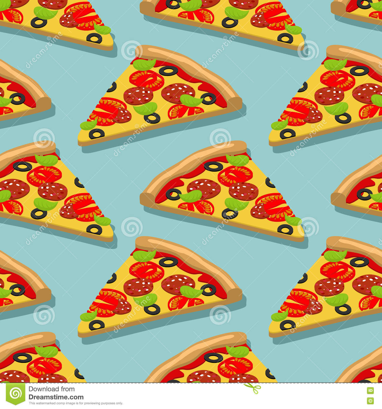 repeating pizza background - photo #21