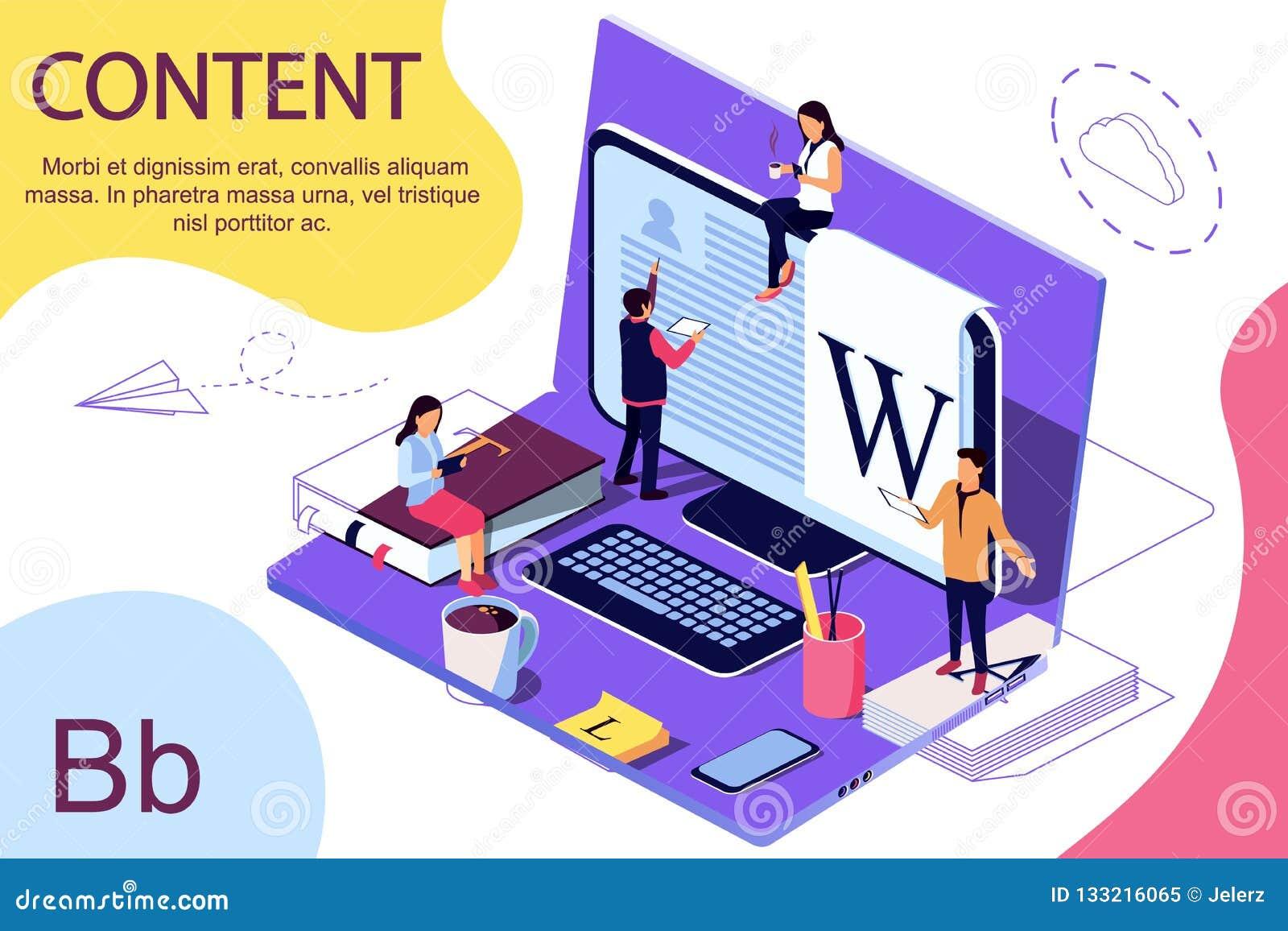 Isometric pojęcie edukacja Wektorowa ilustracja dla online edukacji, online szkolenie,