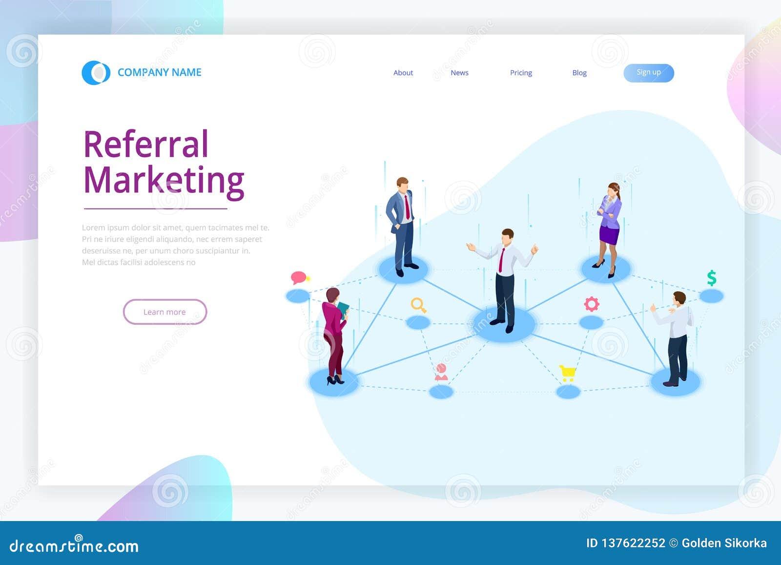 Isometric Referral Marketing, Network Marketing, Referral