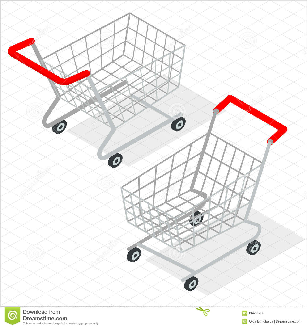 Online shopping cart template free download