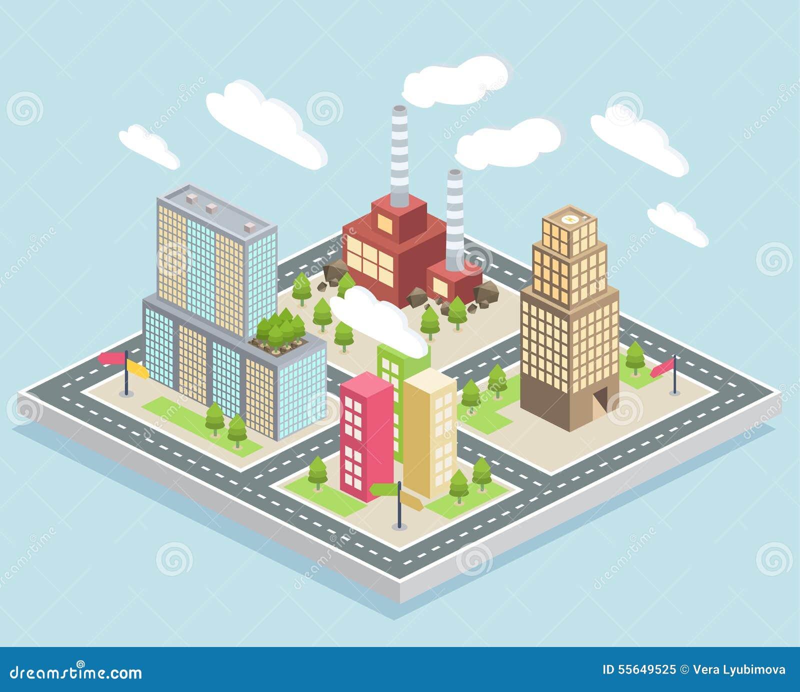 Small City Diagram - Illustration Of Wiring Diagram •