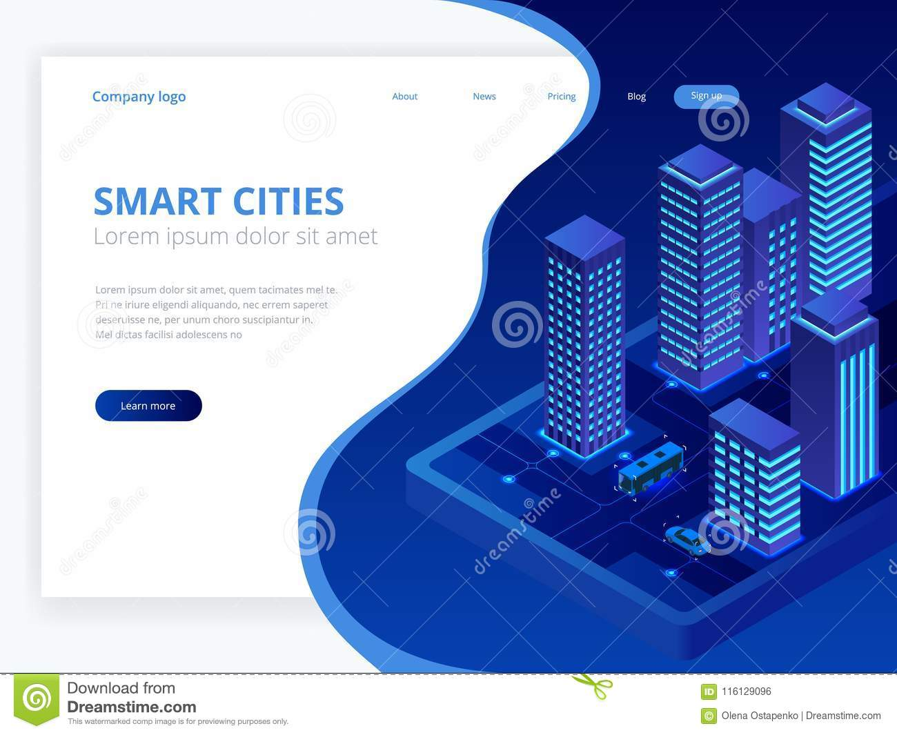 Isometric Web Hosting, Data Backup Copy, Recover File Concept, Cloud
