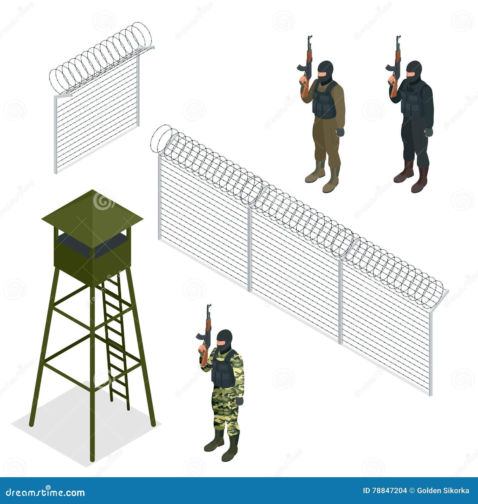 Charmant Stacheldrahtzaun Cartoon Ideen - Der Schaltplan ...