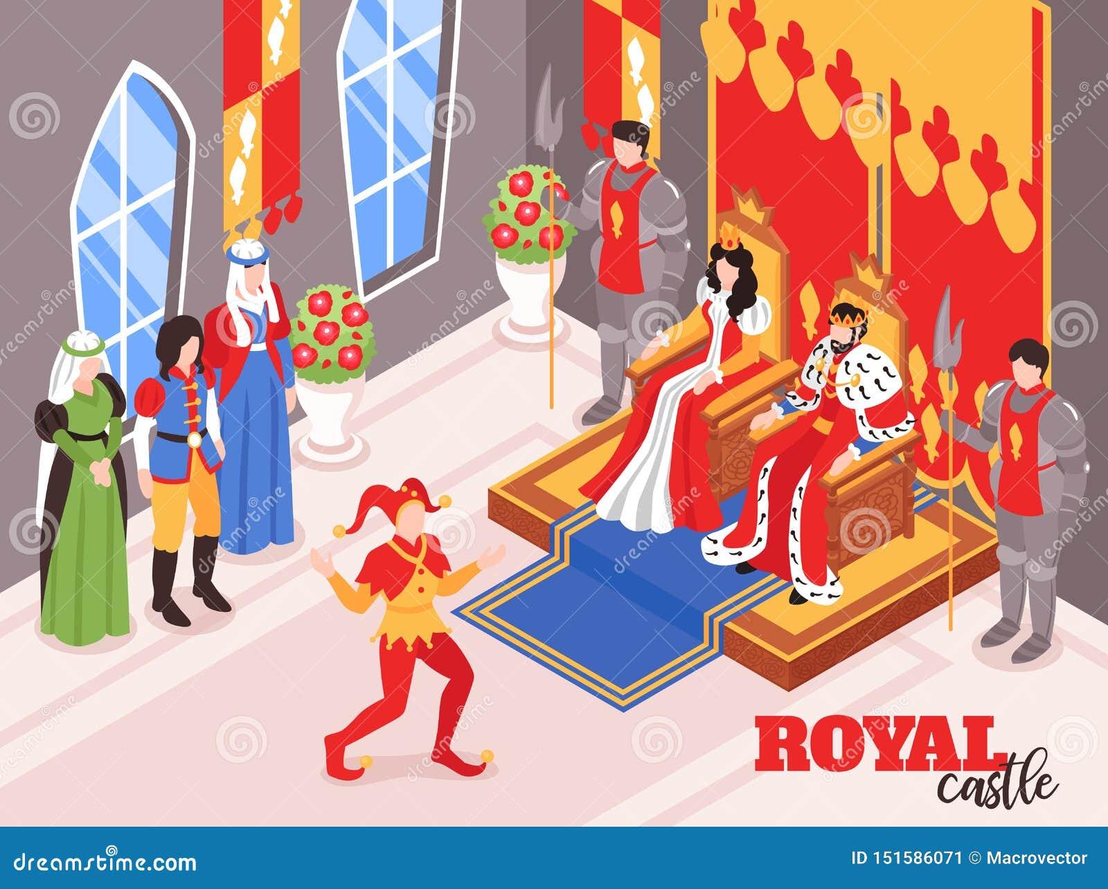 Isometrisk sammansättning för kungligt liv