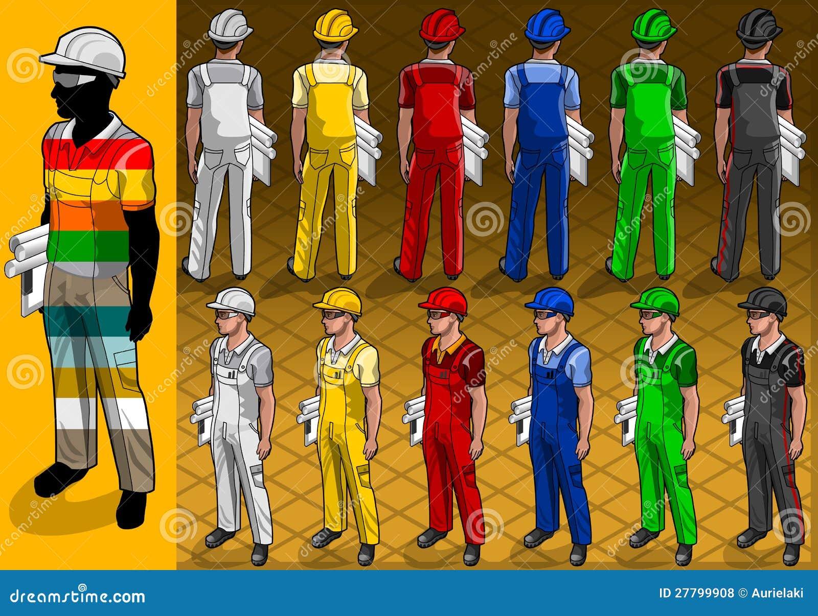 Isometriska pos. för arbetare itu