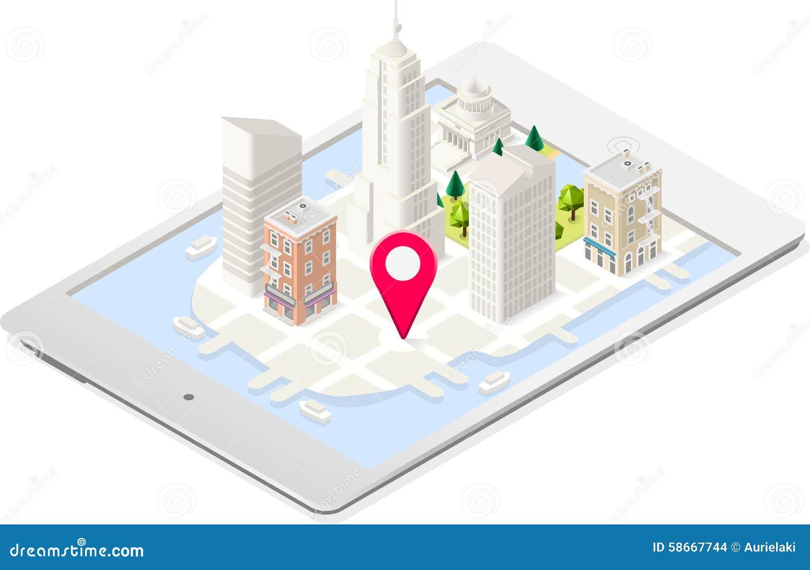 Isometriskt byggande för NYC-översikt 03