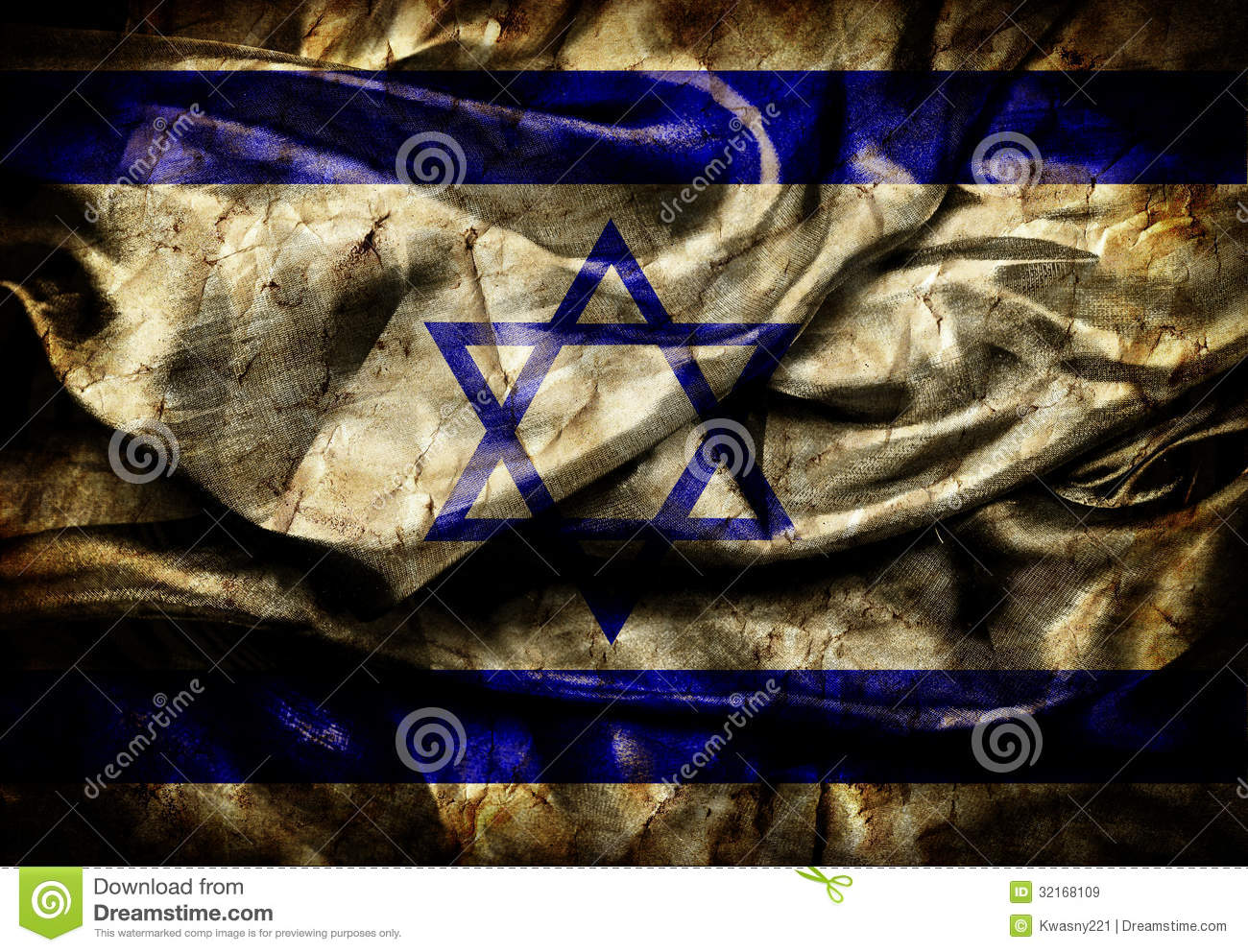 Israel Flag Royalty Free Stock Images Image 32168109