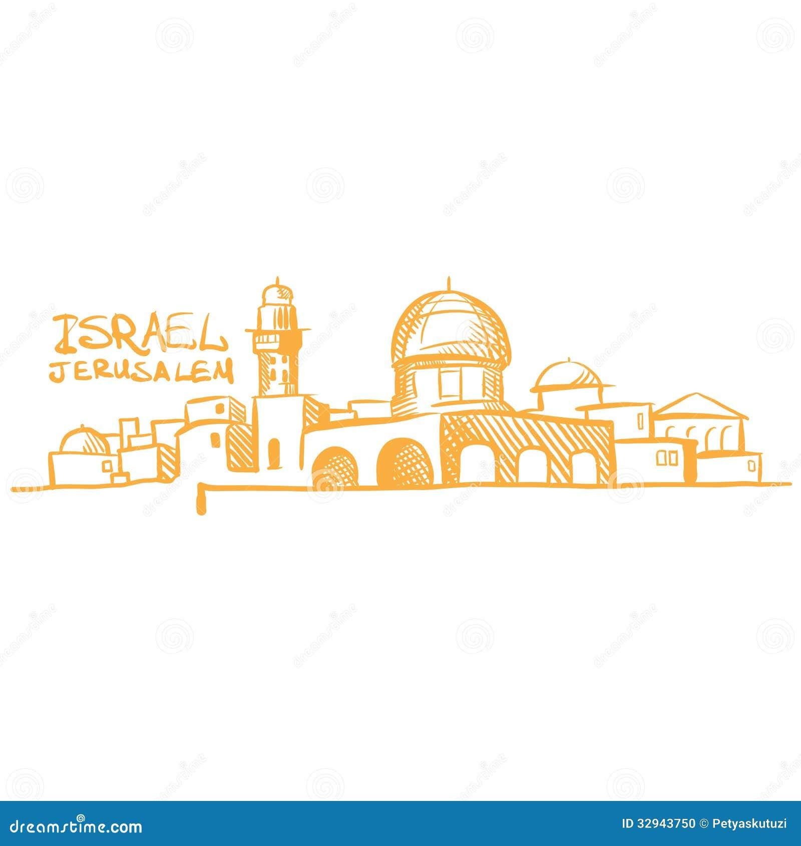 рисунках иерусалим в