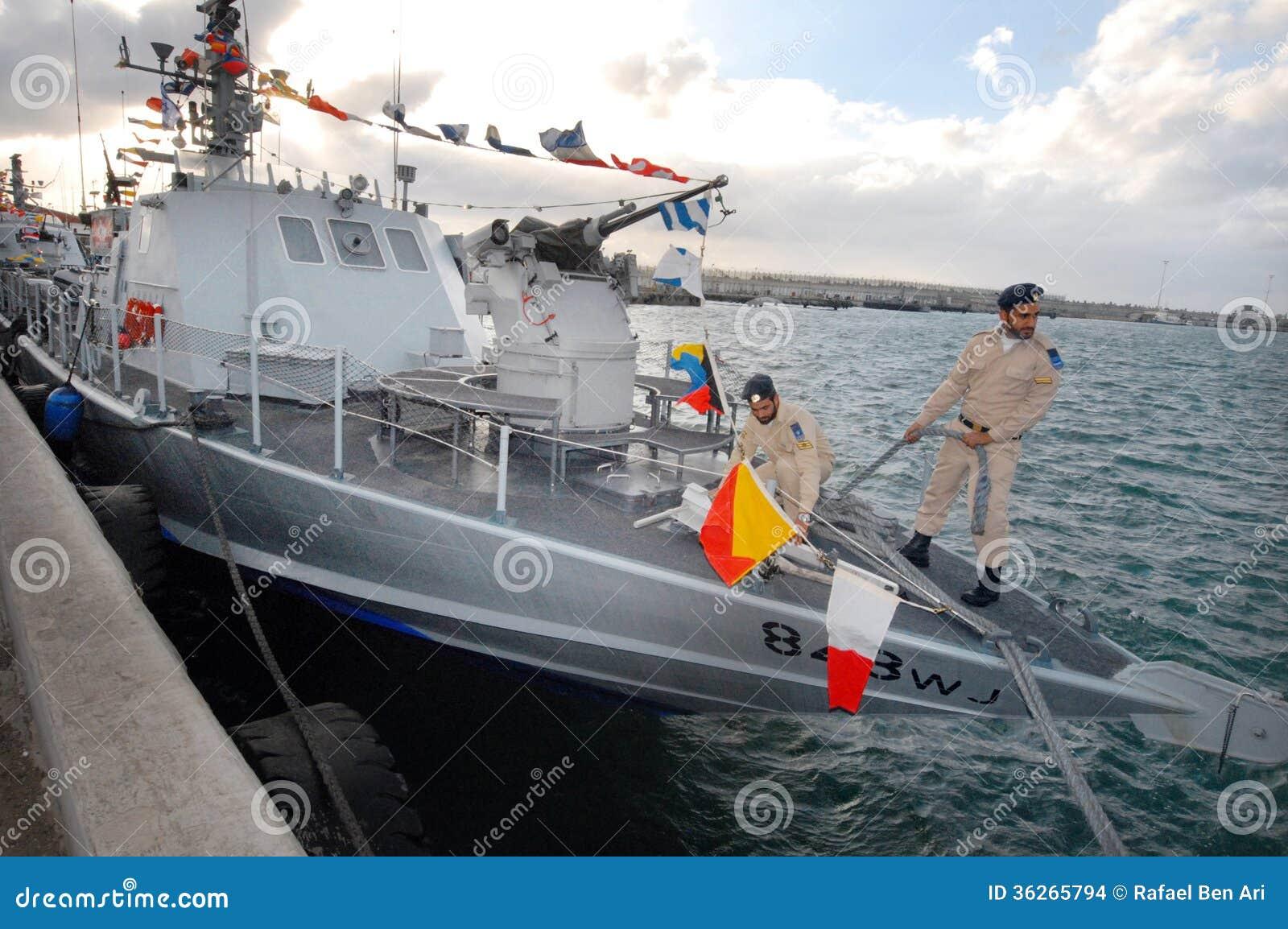 Israel Navy Super Dvora Mk III-class Patrol Boat Editorial