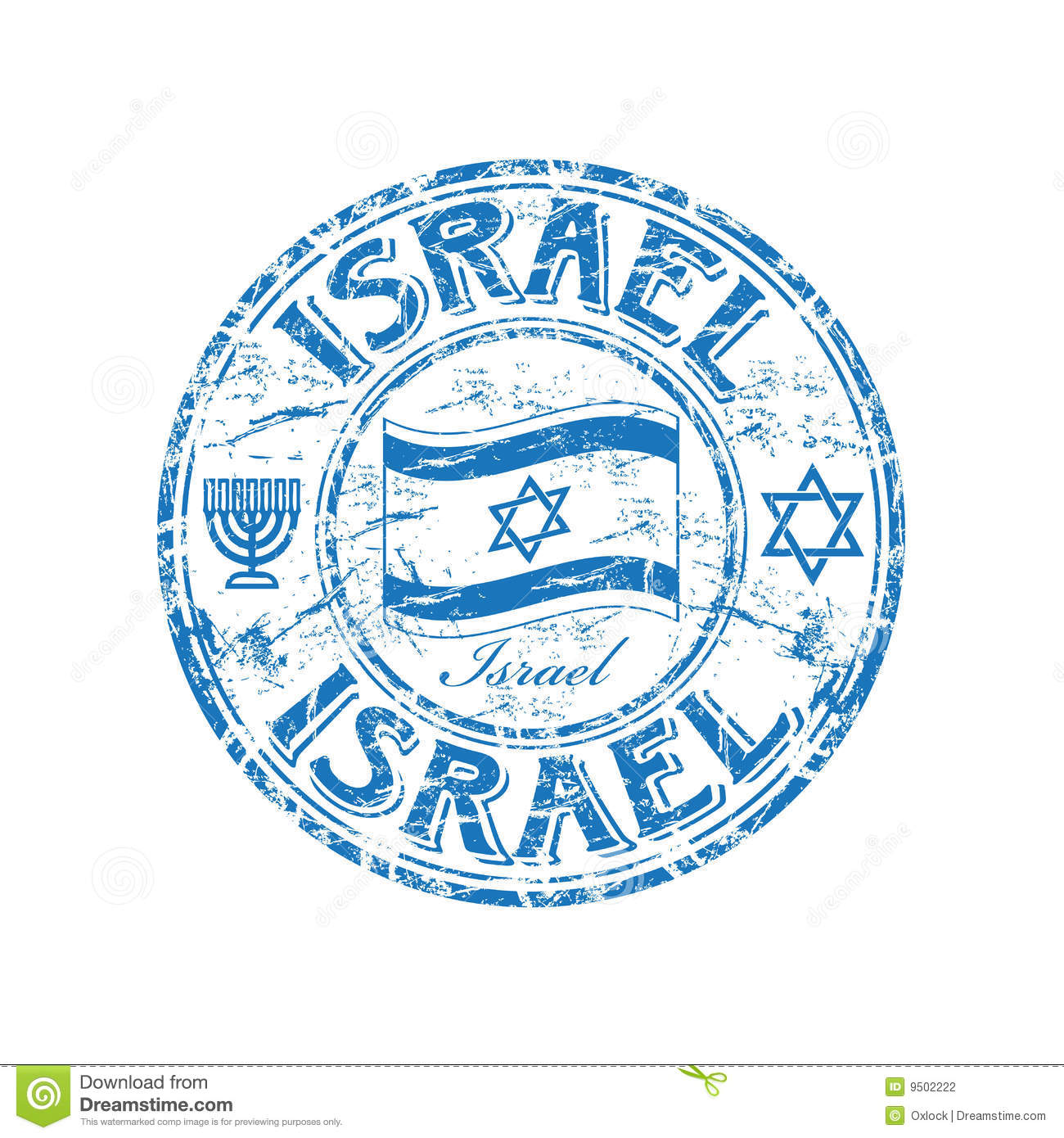 israel rubber stamp stock photography image 9502222 clip art of earth from moon clip art of earth from moon