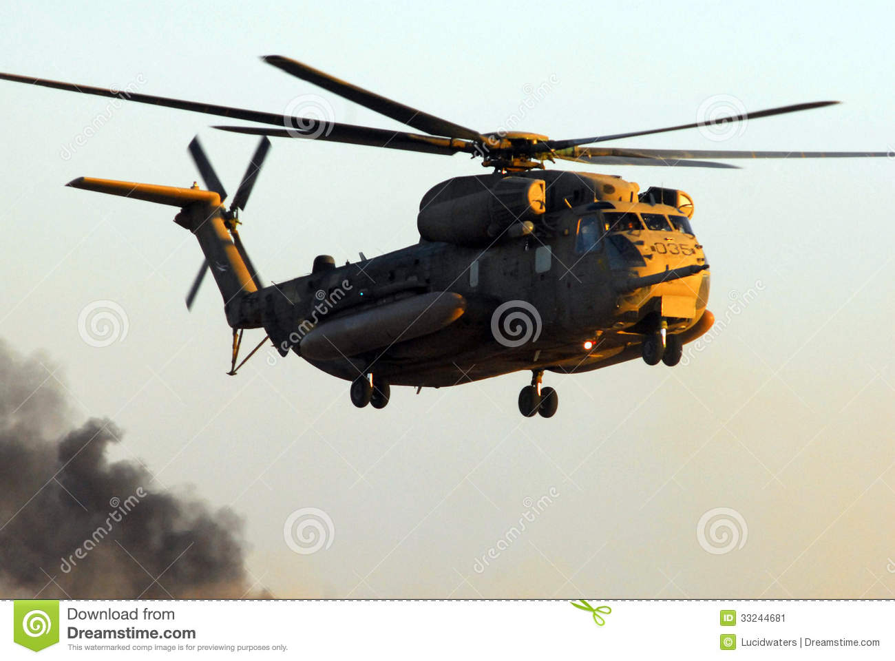 Israeli Air Force CH-53 Sea Stallion Helicopter