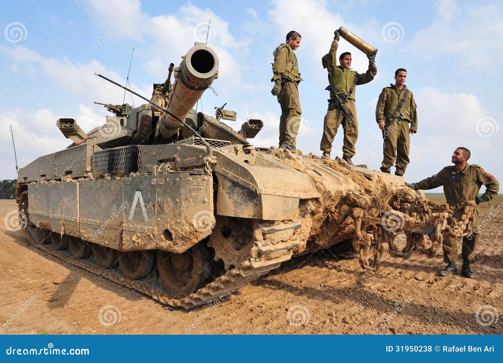 IsraelIDF-behållare - Merkava